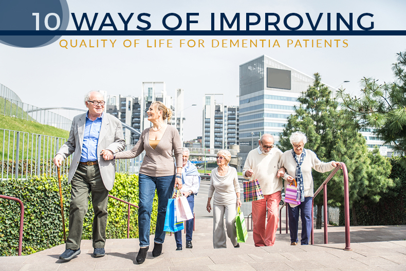 ways improve quality of life dementia patients