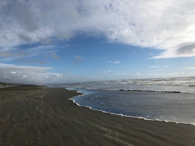 Foxton Beach, on New Zealand's North Island. Photo: Alan James