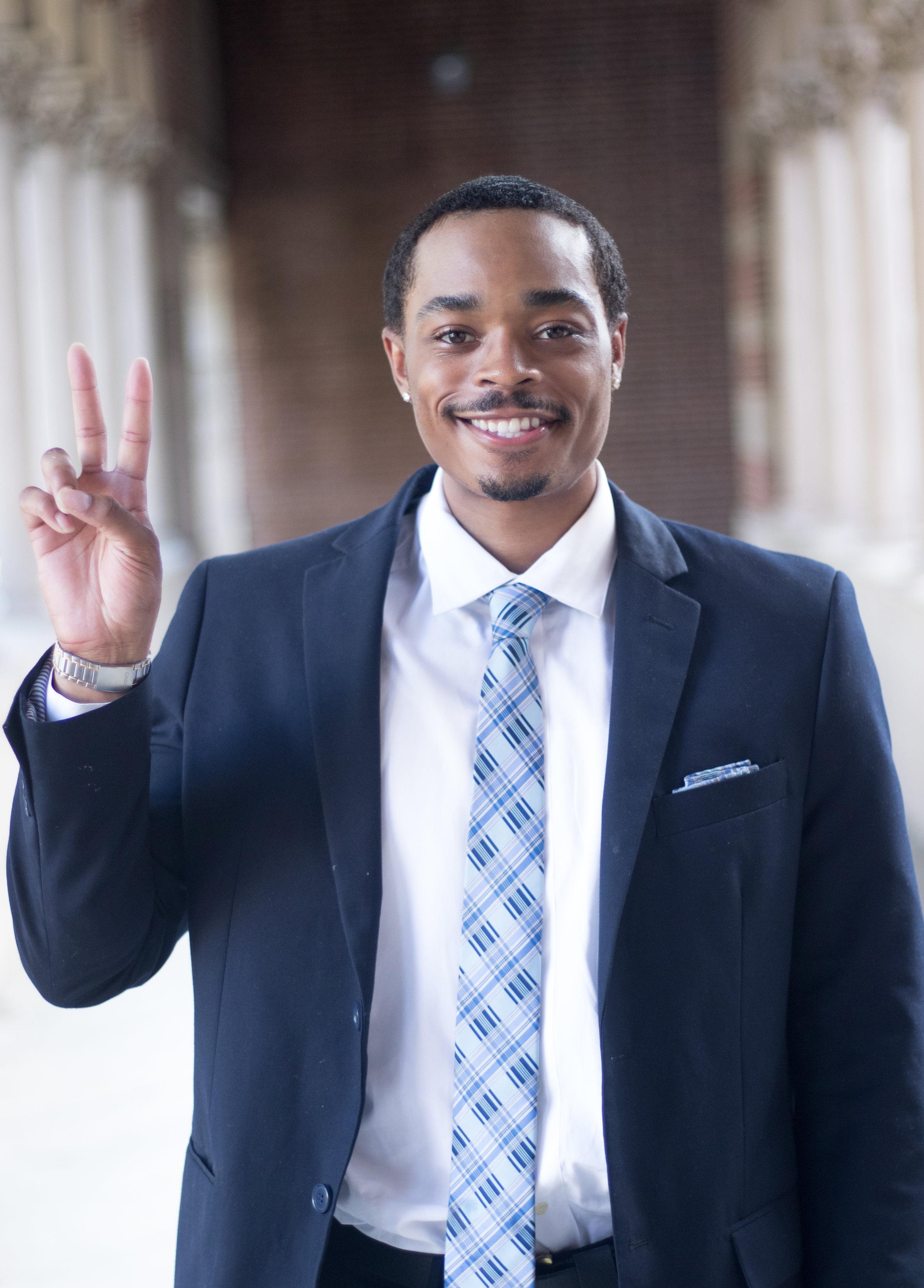 RAJUAN NELSON   PRESIDENT   Environmental Engineering   Class of 2020   president.usc.nsbe@gmail.com