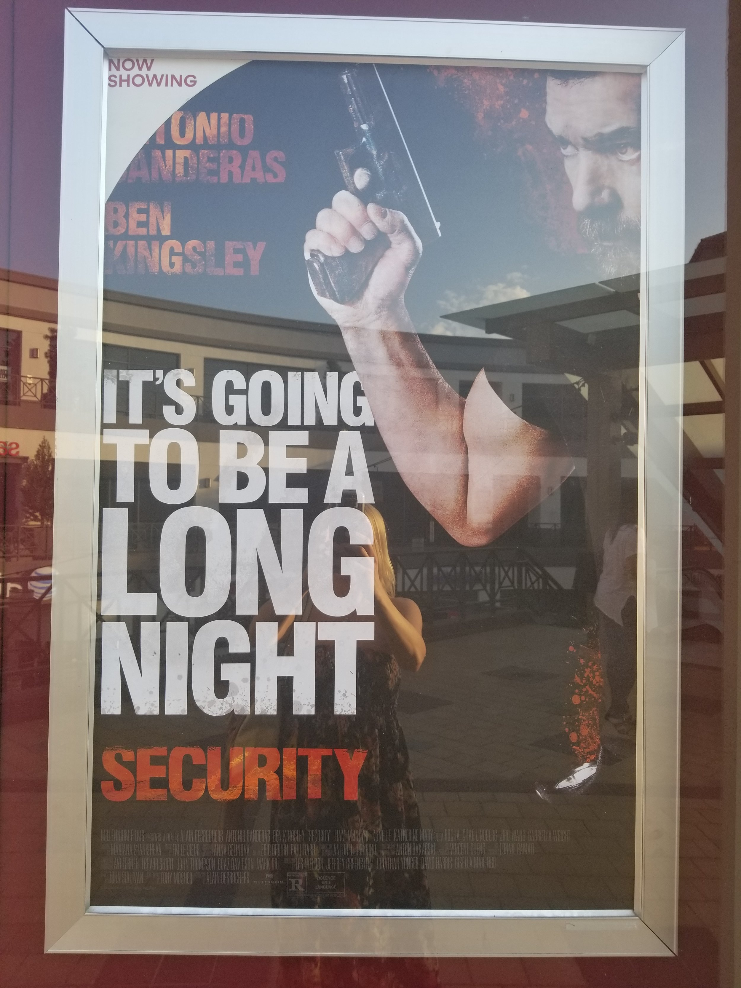 security movie poster