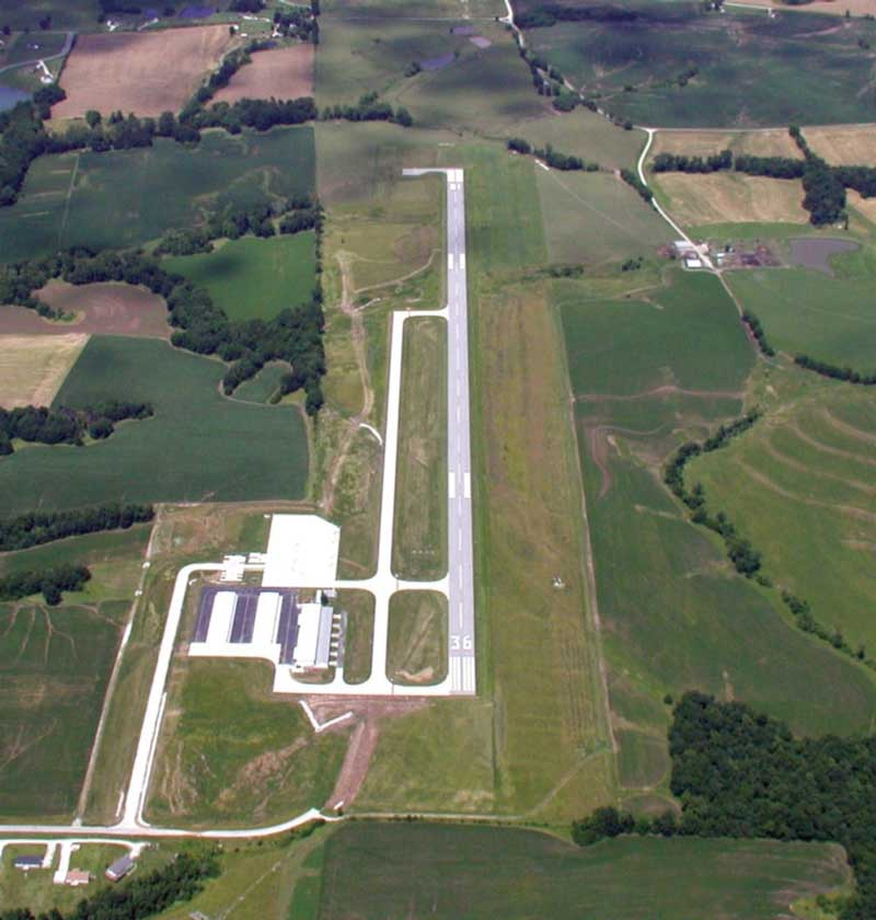 Jesse Viertel Memorial Airport: Taxiway Construction
