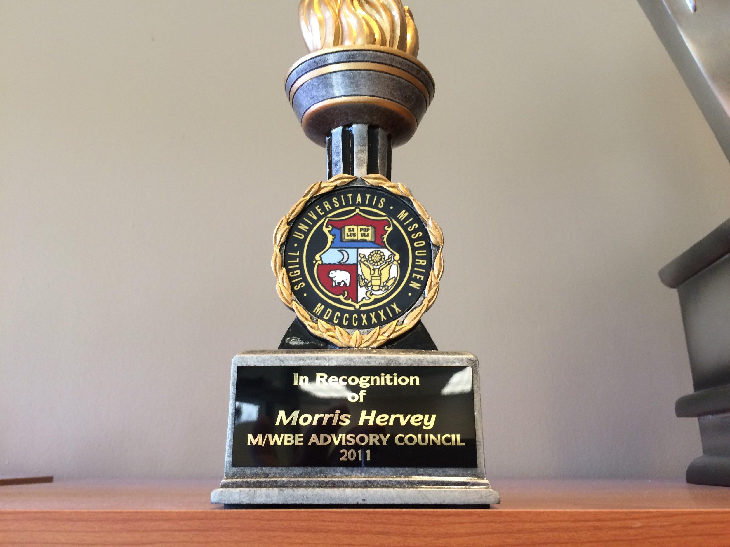 M/WBE Advisory Council Recognition