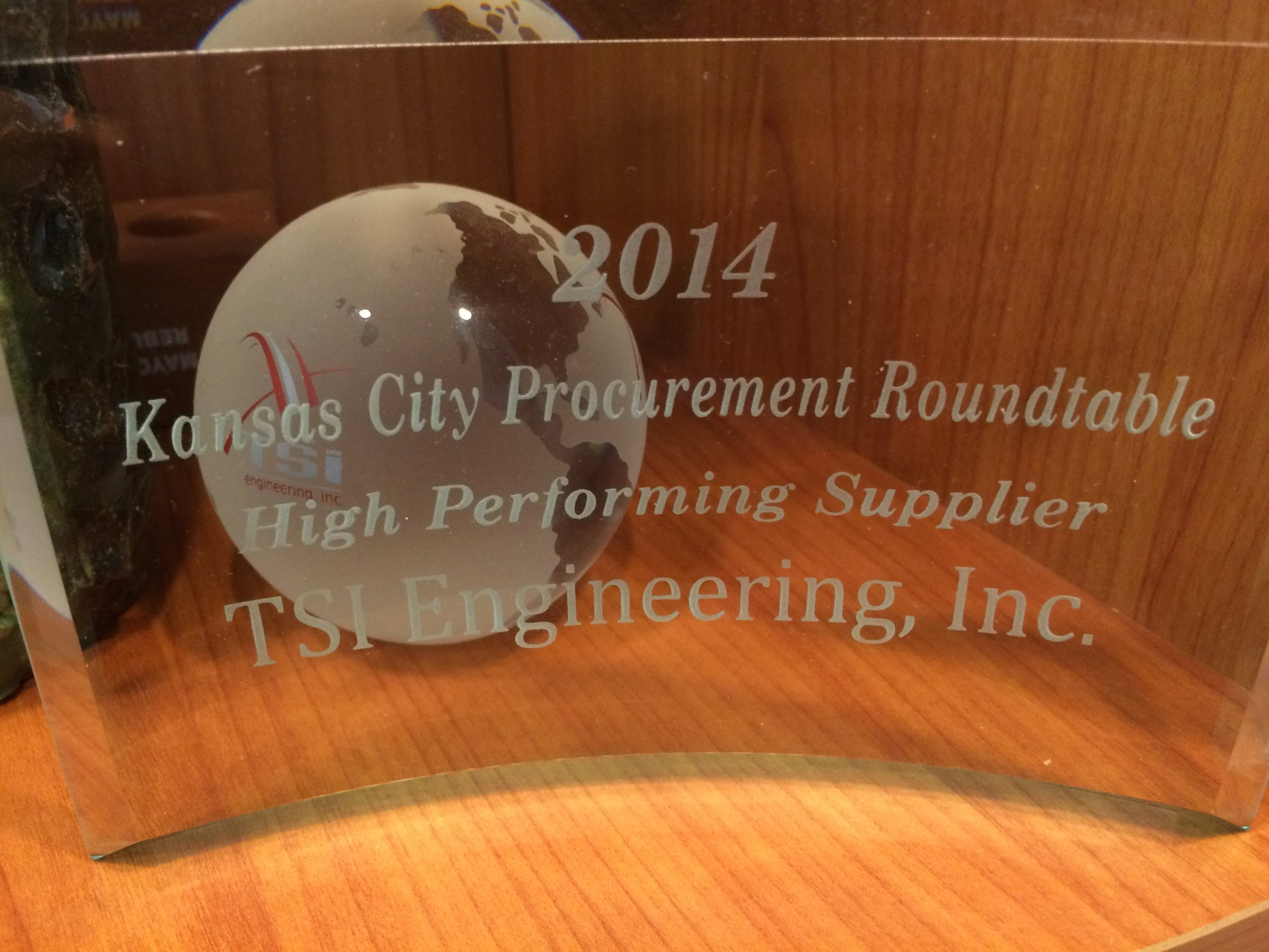 High Performing Supplier Award