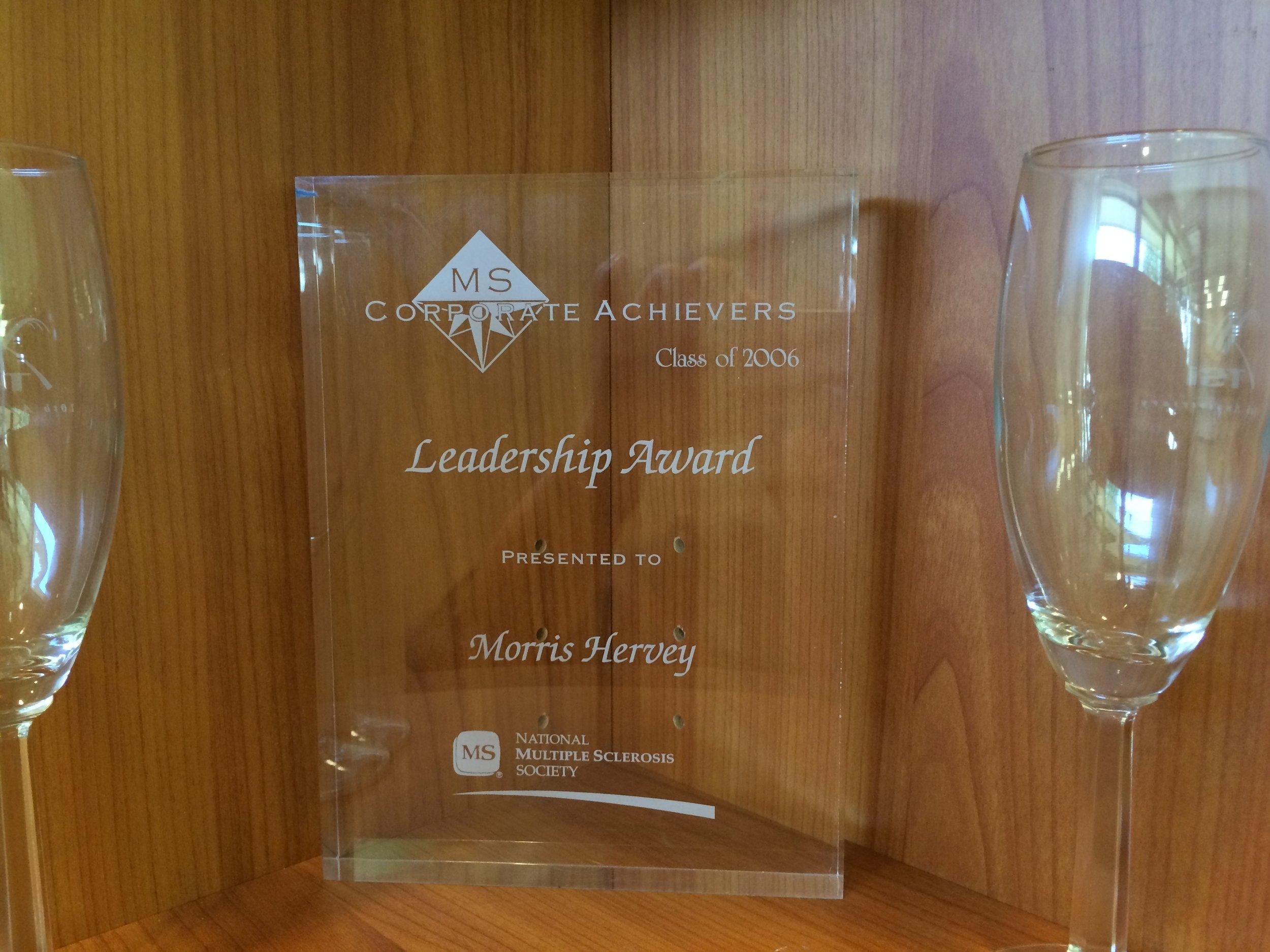 MS Corporate Achievers Leadership Award
