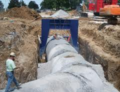 Lemay Sanitary Sewer Pipe Installation