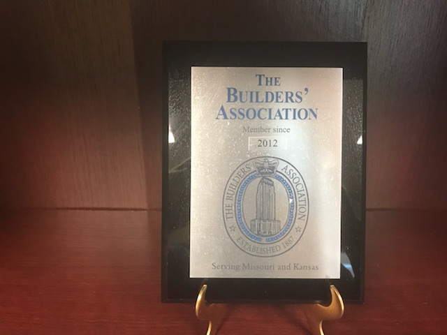 The Builders' Association Membership Recognition