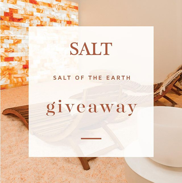 ✨Salt Of The Earth GIVEAWAY✨!   This week we at SALT want to share a complimentary SALT Room Experience for both you and a friend or significant other for the perfect date night!  All you have to do to enter is: 1. Like this post  2. Follow @saltsalonspacafe  3. Tag a friend or significant other you would want to bring for the SALT room experience in the comments!  Enter more than once by tagging a different friend or your significant other in each comment!  The healingimalayan SALT Room sessions are 45 minutes. Respite in an oasis ideal for meditation or napping while letting SALT improve your mood, purify your respiratory system, boost immunity, heal skin conditions and more.  SALT will be selecting the winner next Monday will be announce winners through this post and stories. To win you must both be local to the Twin Cities. GOOD LUCK!✨