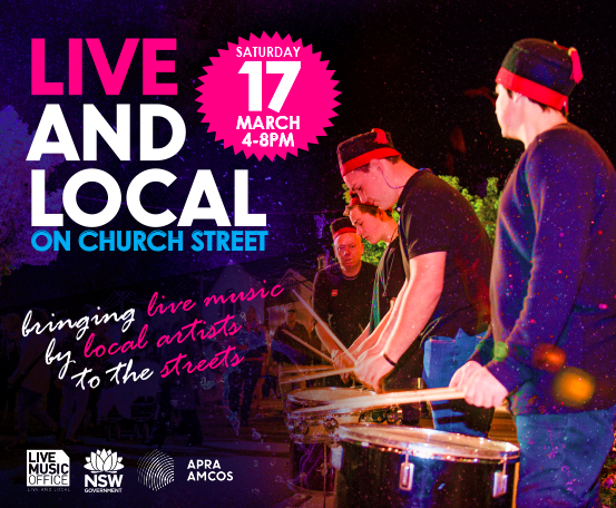 More information on Live and Local on Church Street available via  Mid-Western Regional Council .