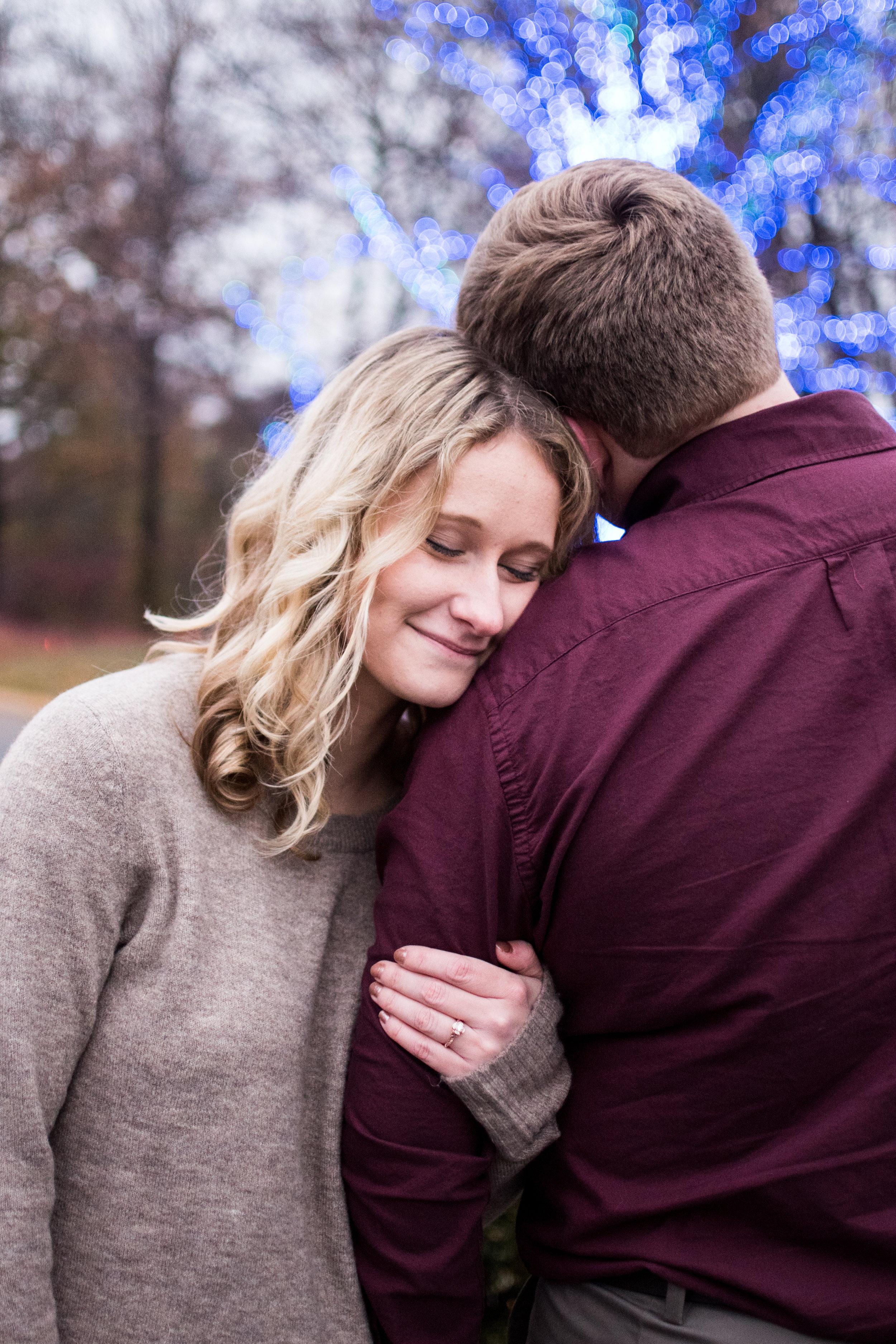 Kyla Jo Photography // Indianapolis Indiana Photographer // Indianapolis Art Musueam // IMA // Engagement Photographer // Midwest Photographer // Muncie Indiana Based Photographer // Winter Engagement Photos