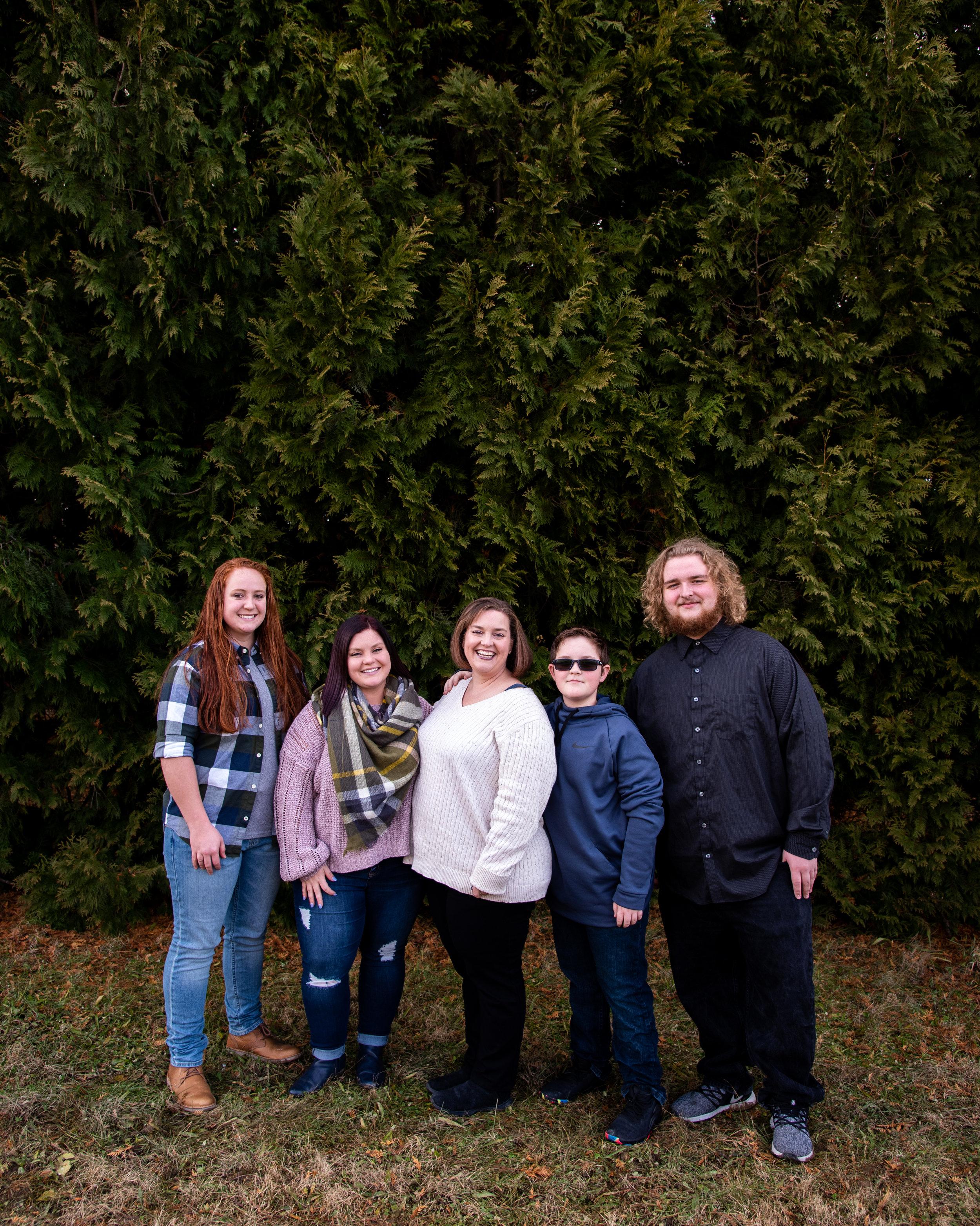 Kyla Jo Photography // Muncie Indiana Photographer // Family Photos // Whitetail Tree Farm