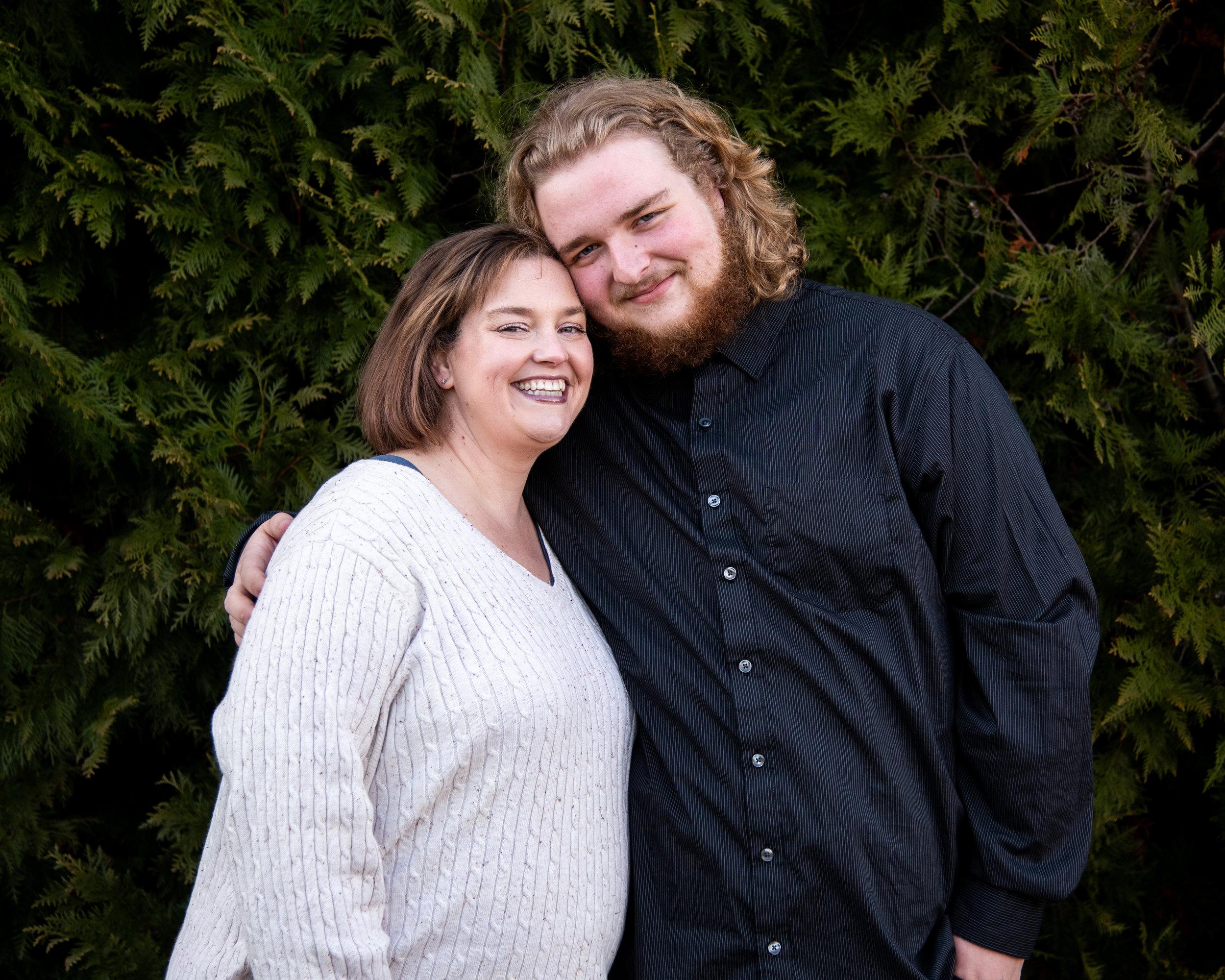 Kyla Jo Photography // Muncie Indiana Photographer // Family Photos // Whitetail Tree Farm // Mother and Son Photo // Winter Photo Shoot // Christmas Tree Farm Photo Session