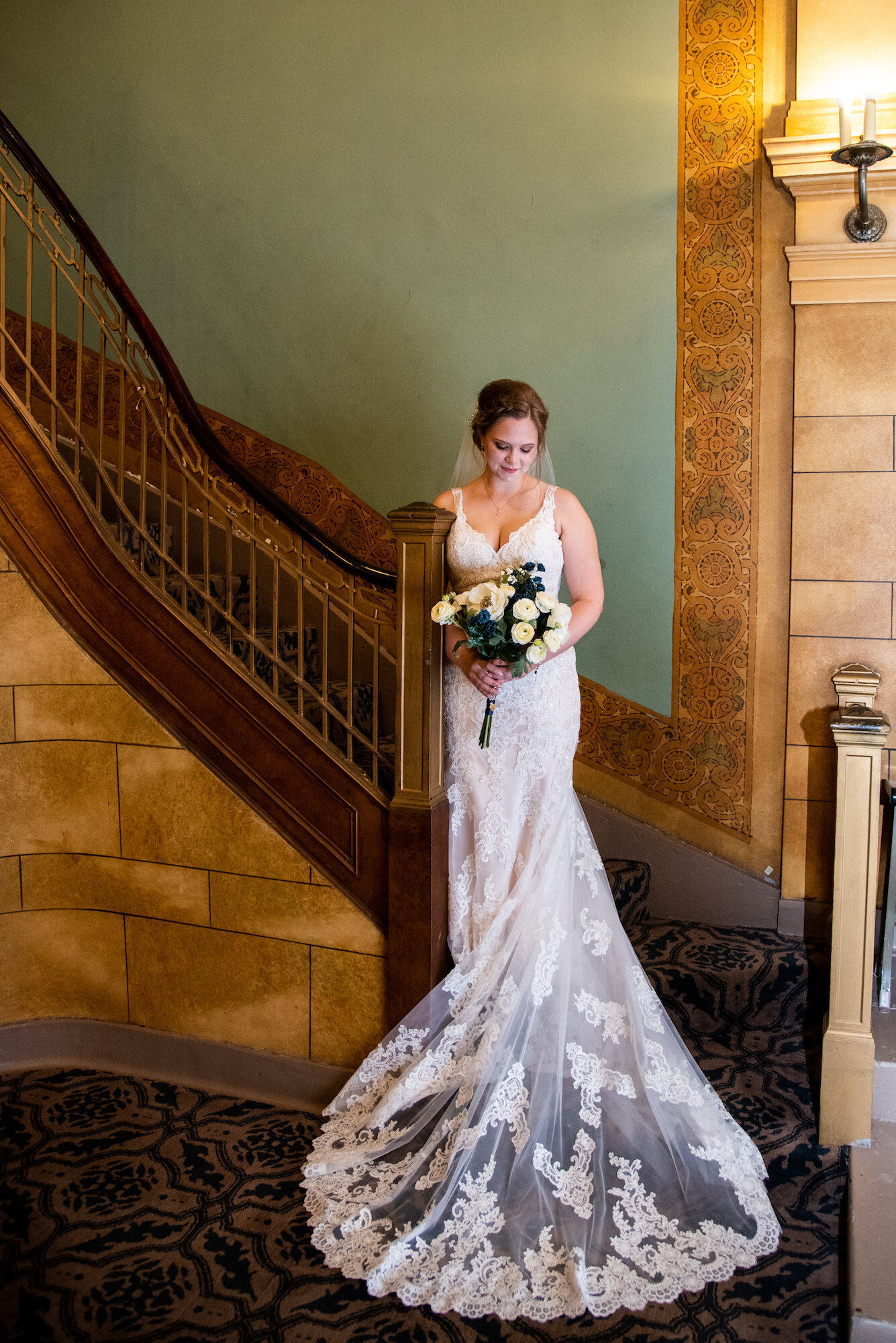 Cornerstone Center for The Arts Muncie Indiana Wedding Kyla Jo Photography