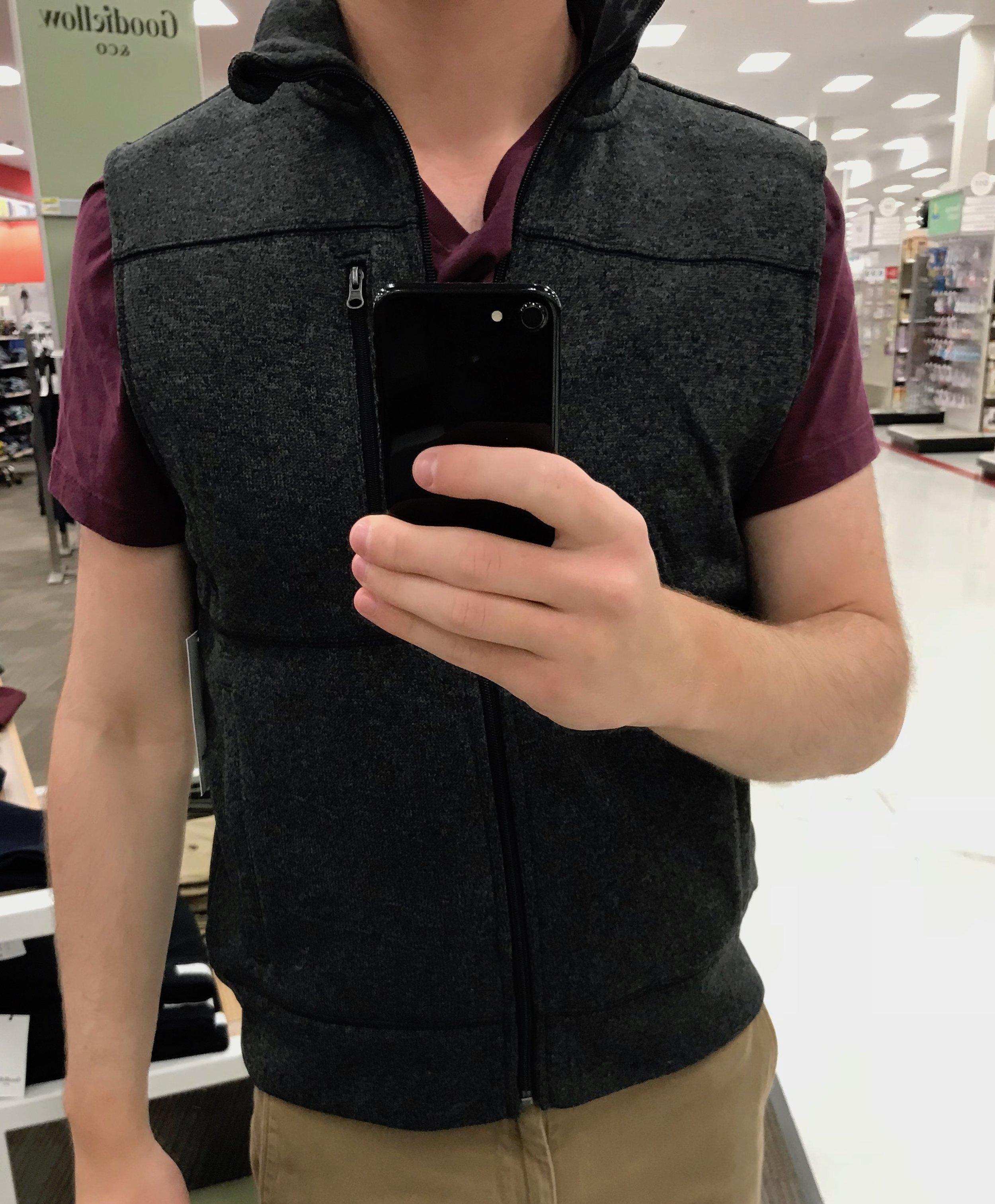 Fleece Vest - $24.99