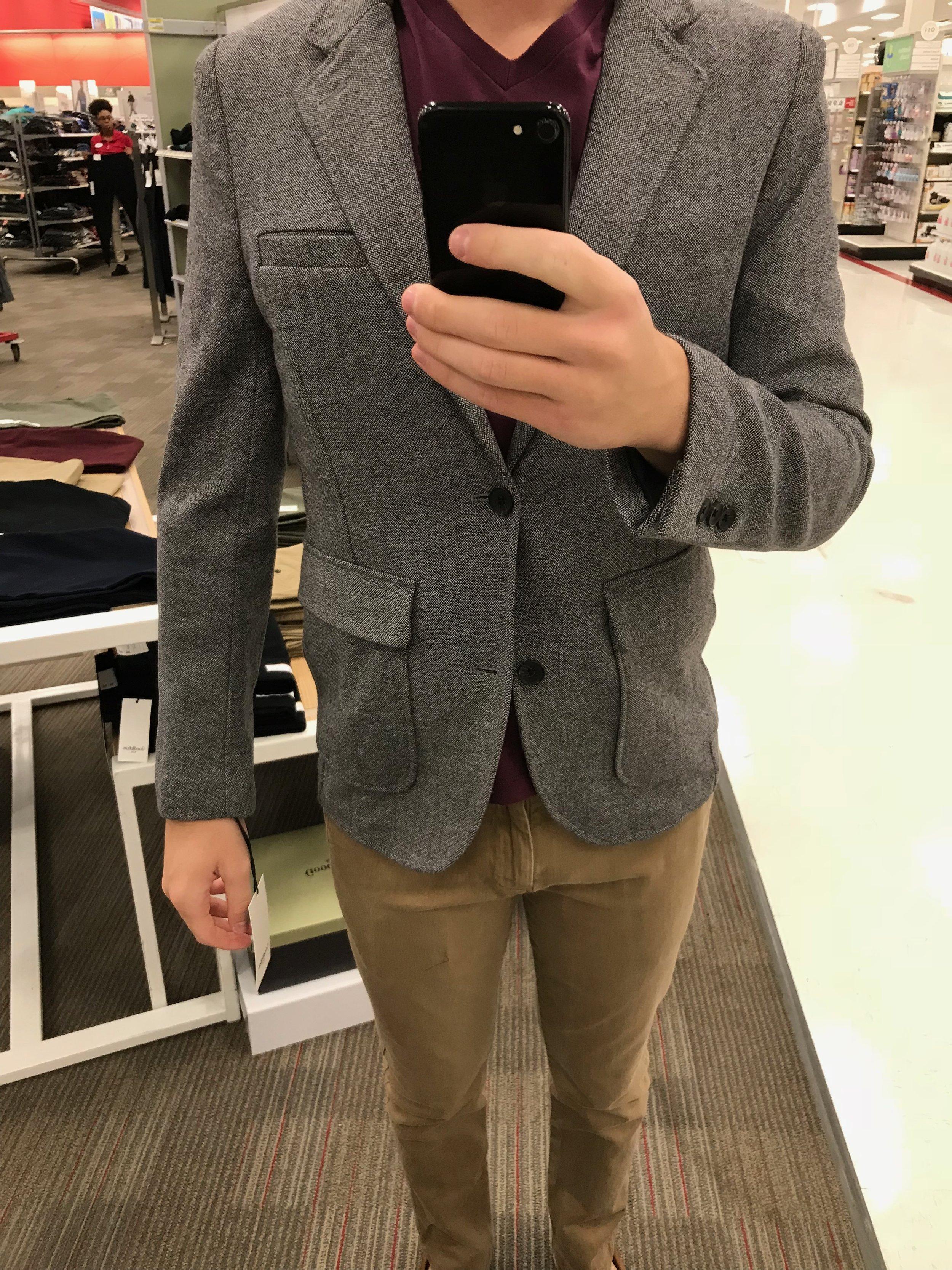 Tweed Blazer - $49.99