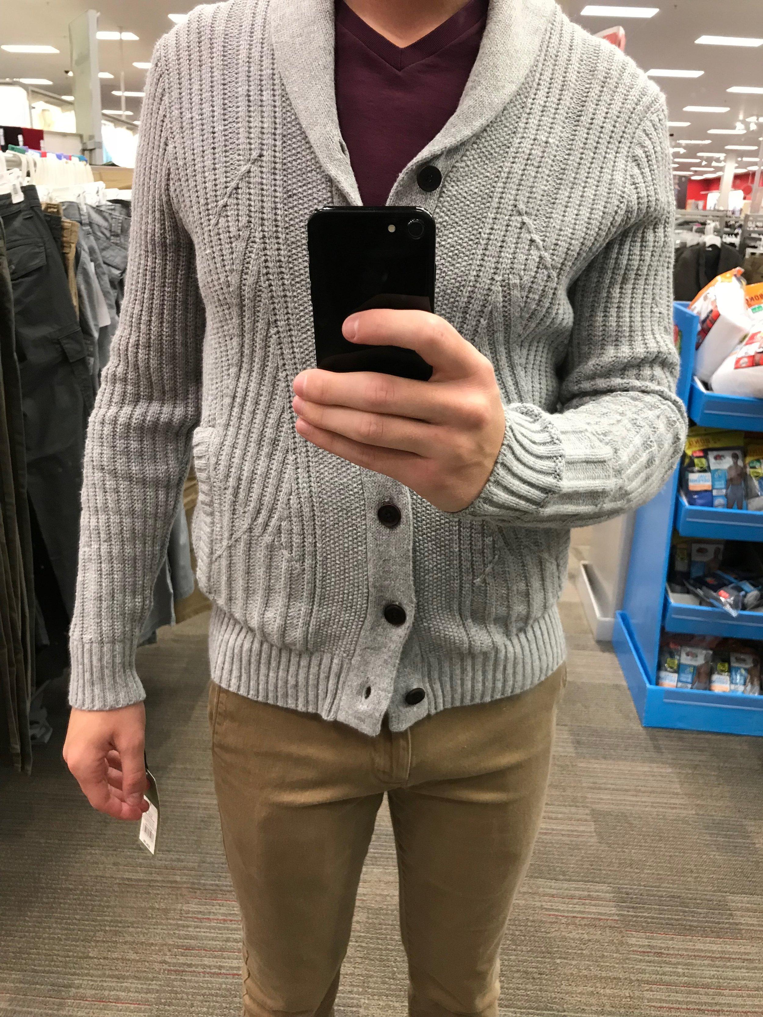 Shawl Collar Cardigan - $34.99