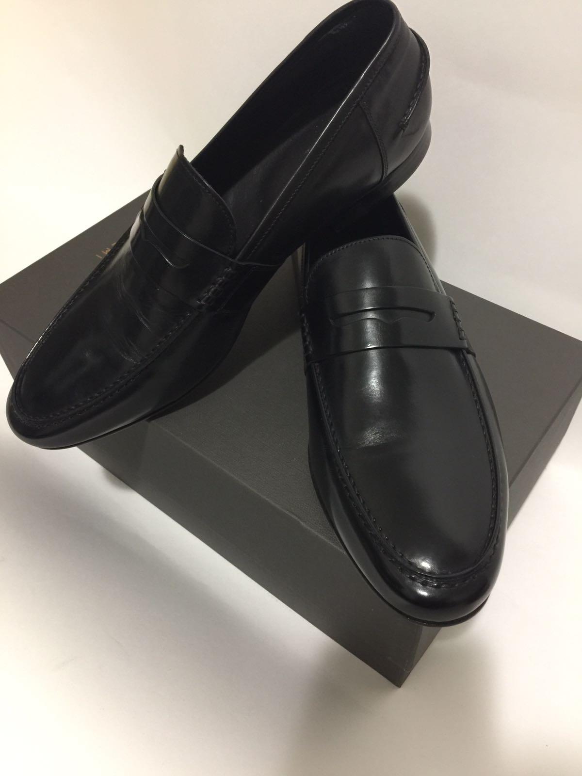 The M.Gemi black penny loafer