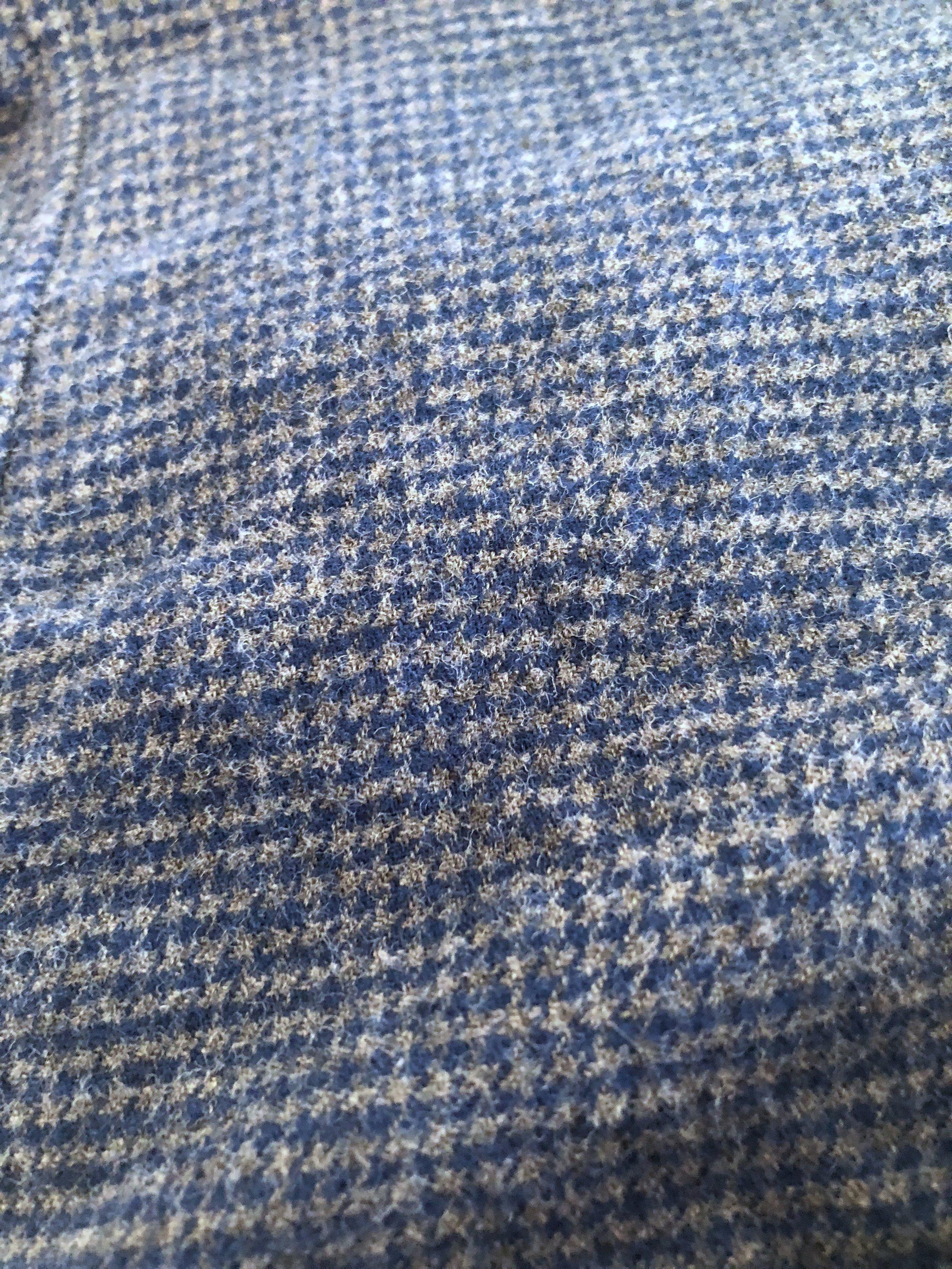 Close-up of the shirt fabric