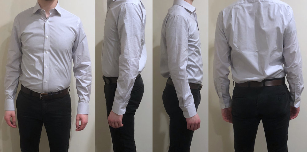 Crew Men/'s Ludlow Slim Fit Stretch Dress Shirt Size 15.5-34 NWT Easy Care Details about  /J