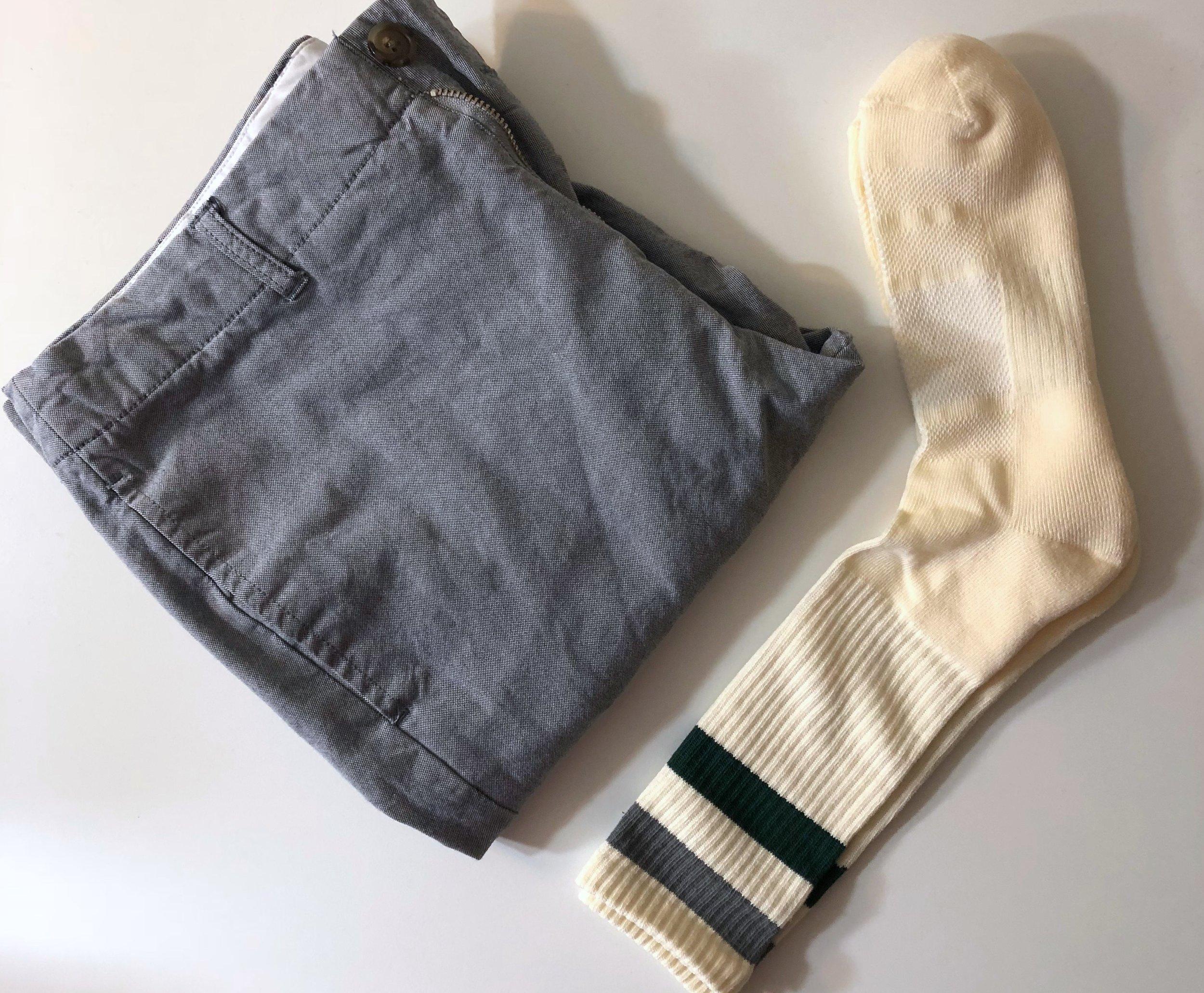 Sock and pants pairing