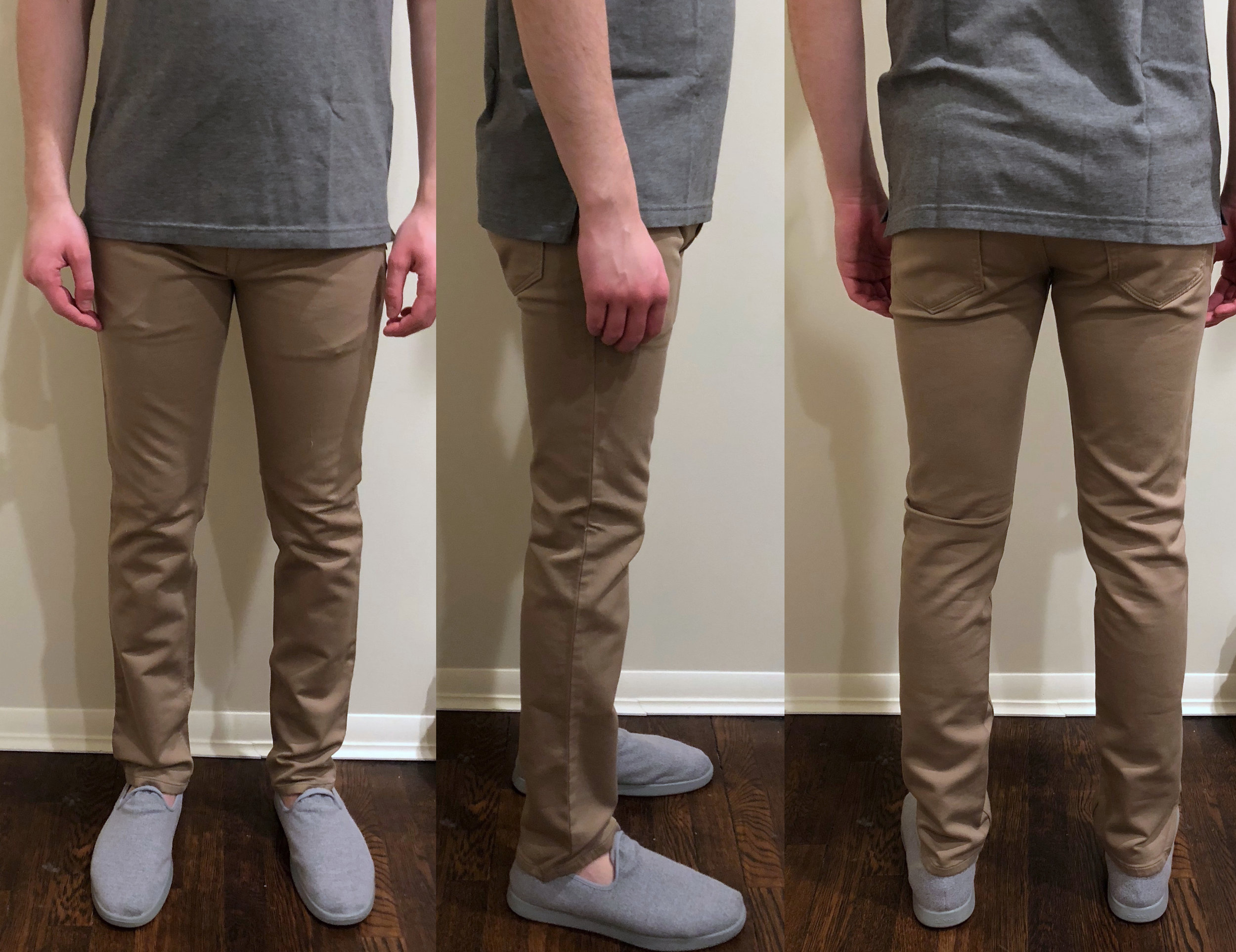 Slim fit — Better, but not perfect