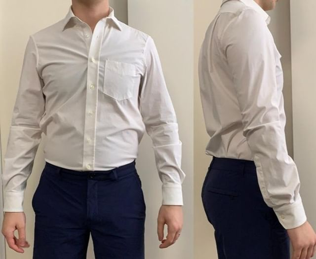 This shirt claims to be the stretchiest dress shirt on the market. Does it live up to the hype?? Read our full review at ThePeakLapel.com