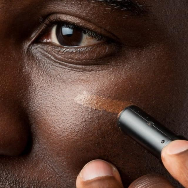 What's this??? Concealer for men??? You bet ya! Read our three super simple tips to a better face on the site today.