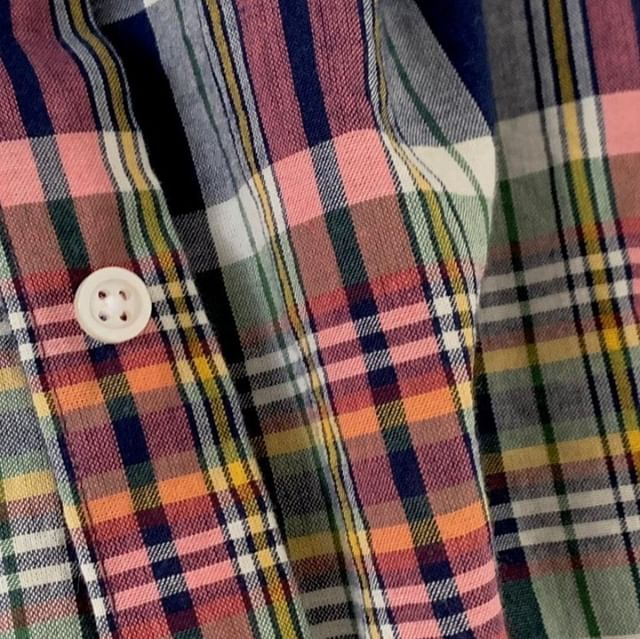 Pretty beautiful madras fabric, eh? It's the perfect summer cloth choice if you're looking to get a custom shirt made. And that is our suggestion on the blog. Read our full review at ThePeakLapel.com