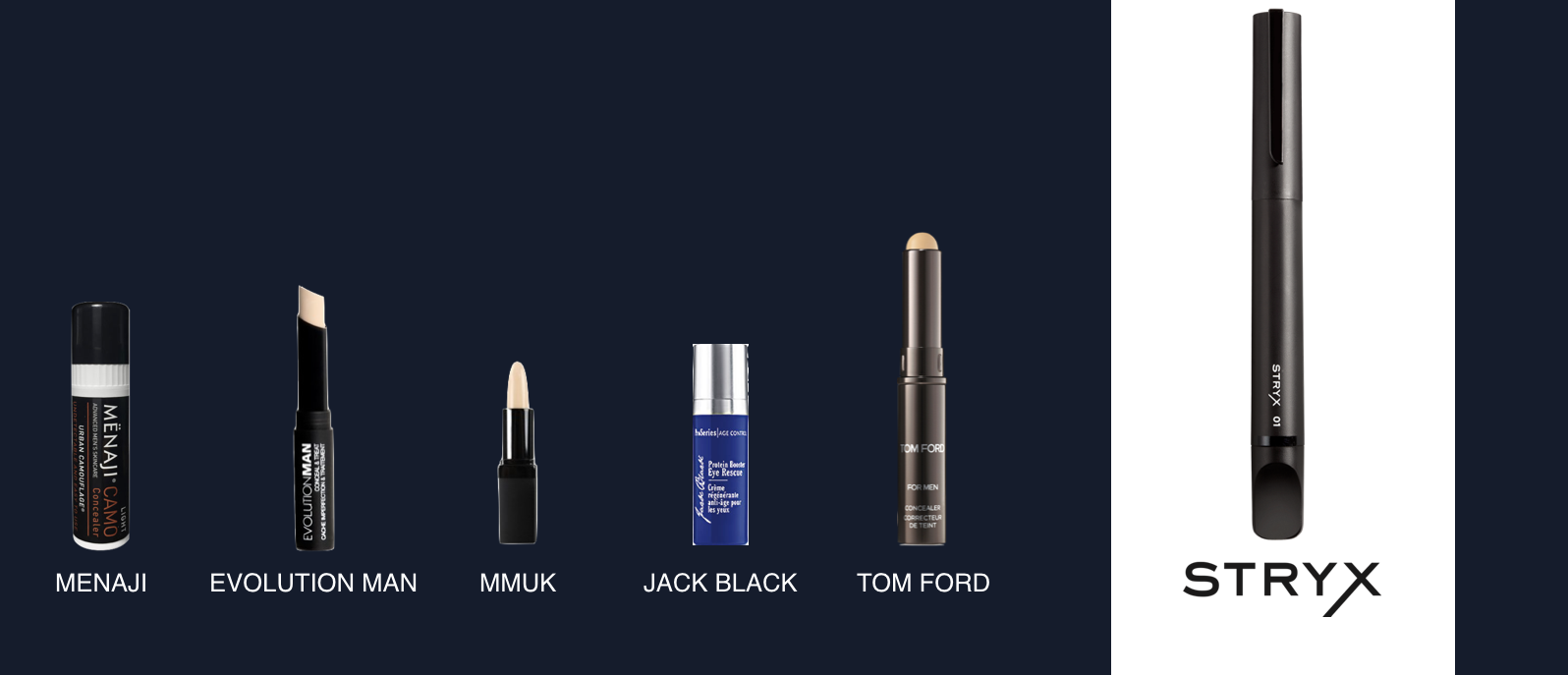 I mean, does this image not really say it all? Which product would  you  want to carry around with you all day?