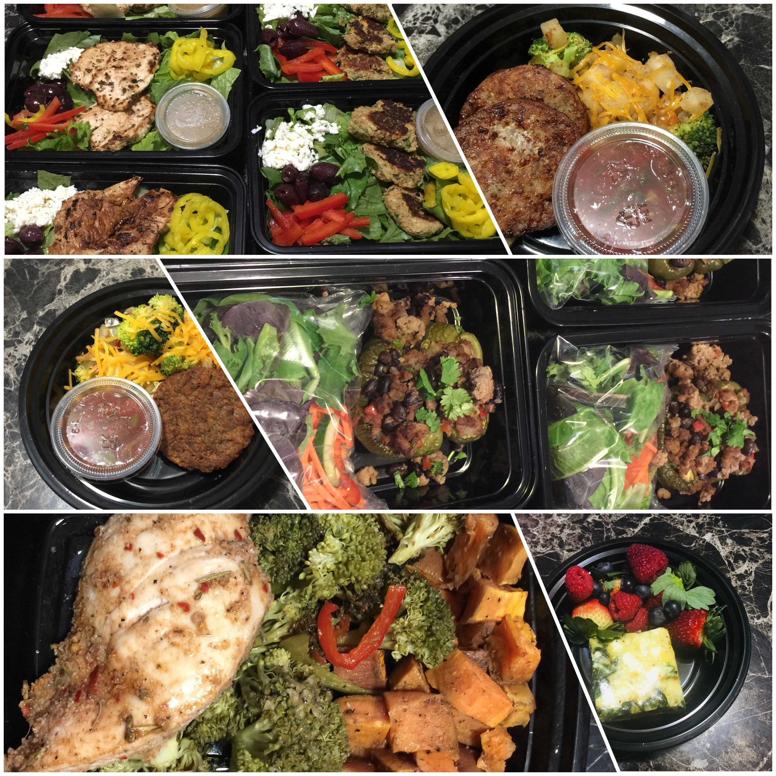 JNC BODIES 2019 Meal prep! - *Each package includes (5) of each meal type listed.BREAKFAST, LUNCH & DINNER $125.00BREAKFAST, LUNCH, DINNER & SMOOTHIE PACKS $150.00BREAKFAST & LUNCH/DINNER $75.00LUNCH & DINNER $95.00LUNCH/DINNER ONLY $55.00BREAKFAST ONLY $20.00Individual Meals:Breakfast/Smoothie Packs $4.00/eachLunch/Dinner Meals $8.50/eachSnacks $5.00/each