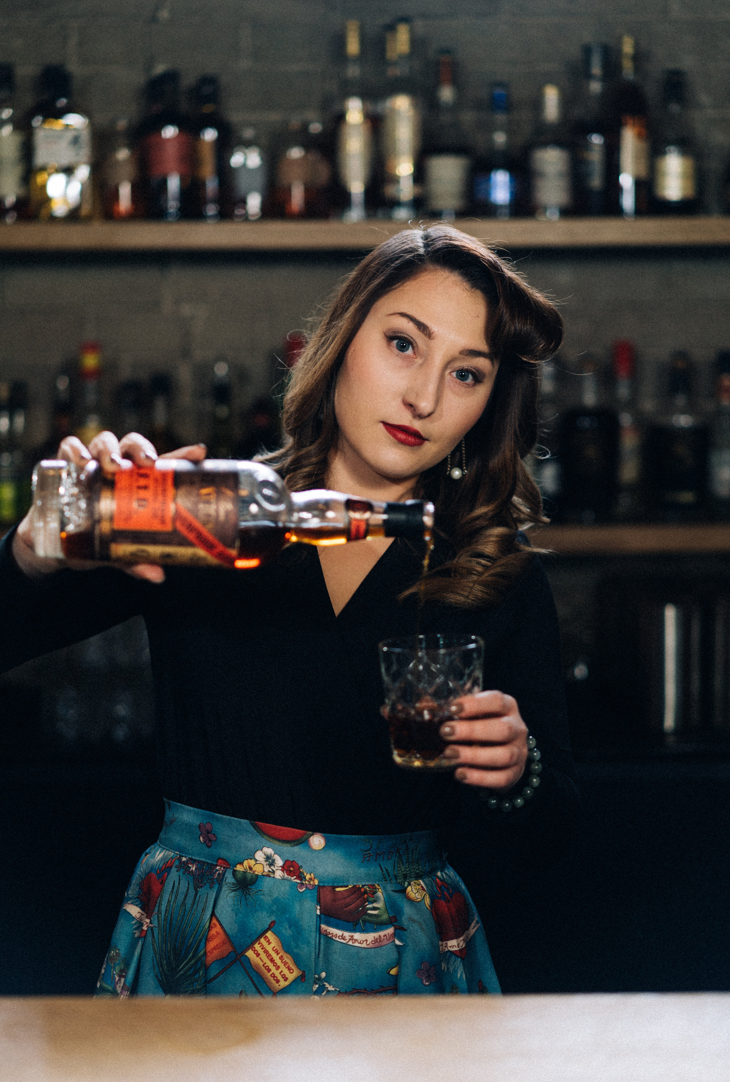 Natasha Trowsdale    Last Known Whereabouts:  Bar Clementine   Weapon of Choice:  Plantation O.F.T.D.