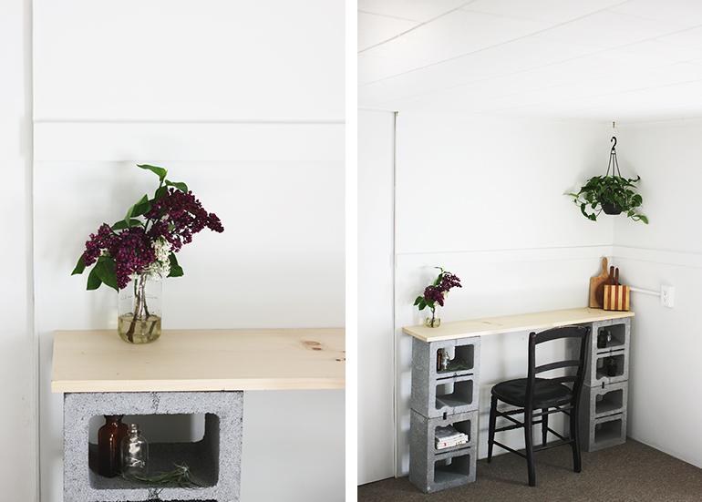 1. As a  desk