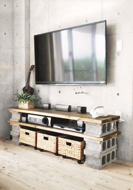 3. As a  media console