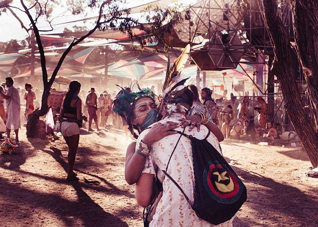 Love and dust @rainbowserpentfestival. . . . #rainbowserpent2019