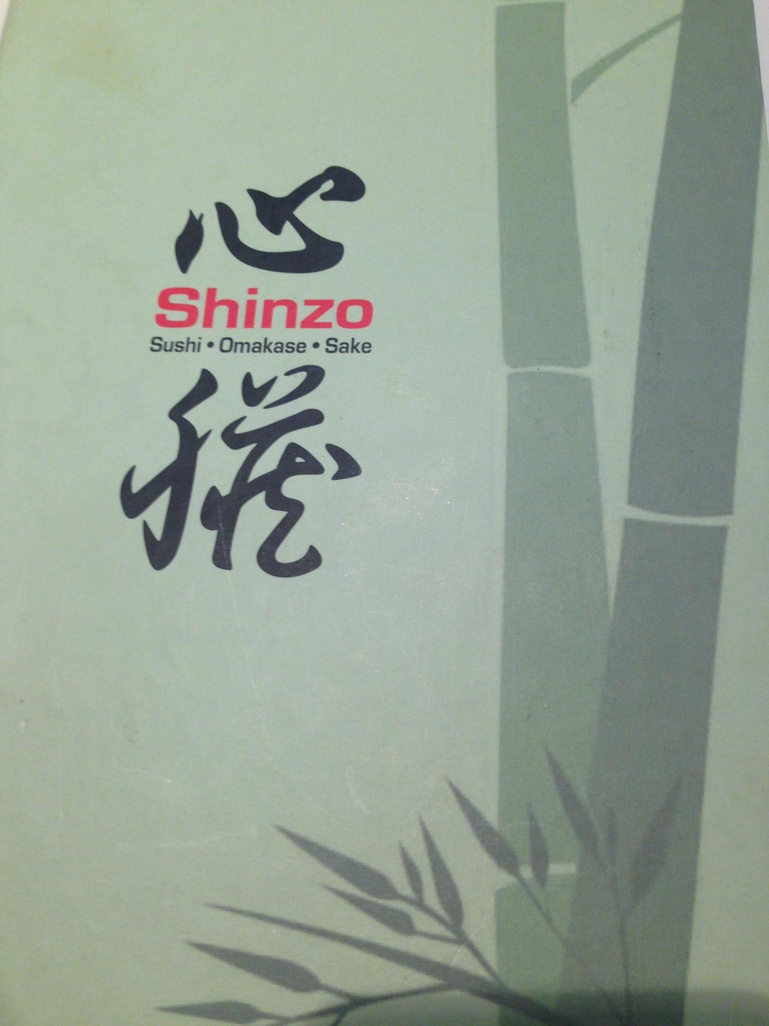 Shinzo at Carpenter Street: All nice things in one place. Sushi, Omakase, Sake.