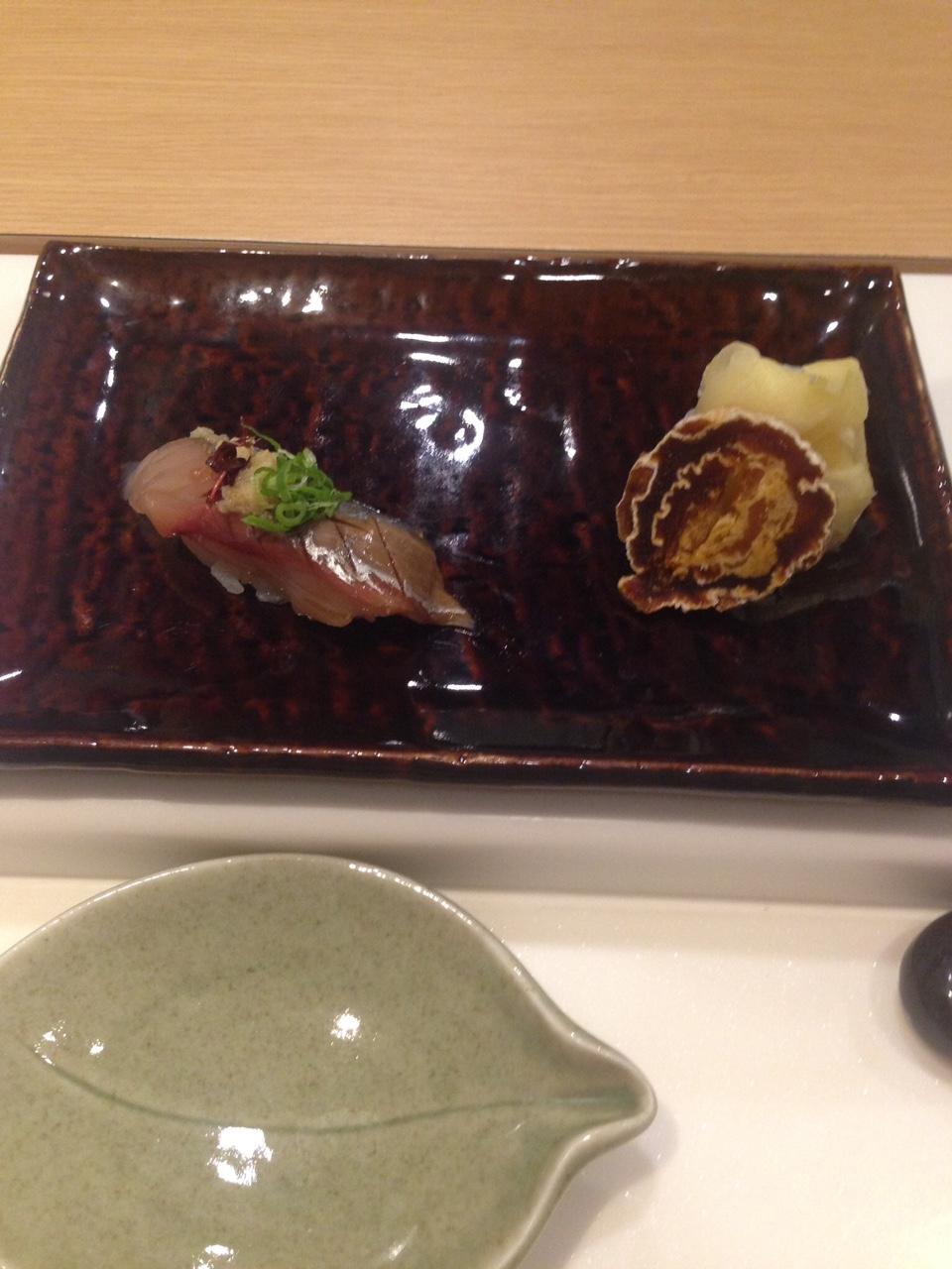 Sushi with yuzu roll :)