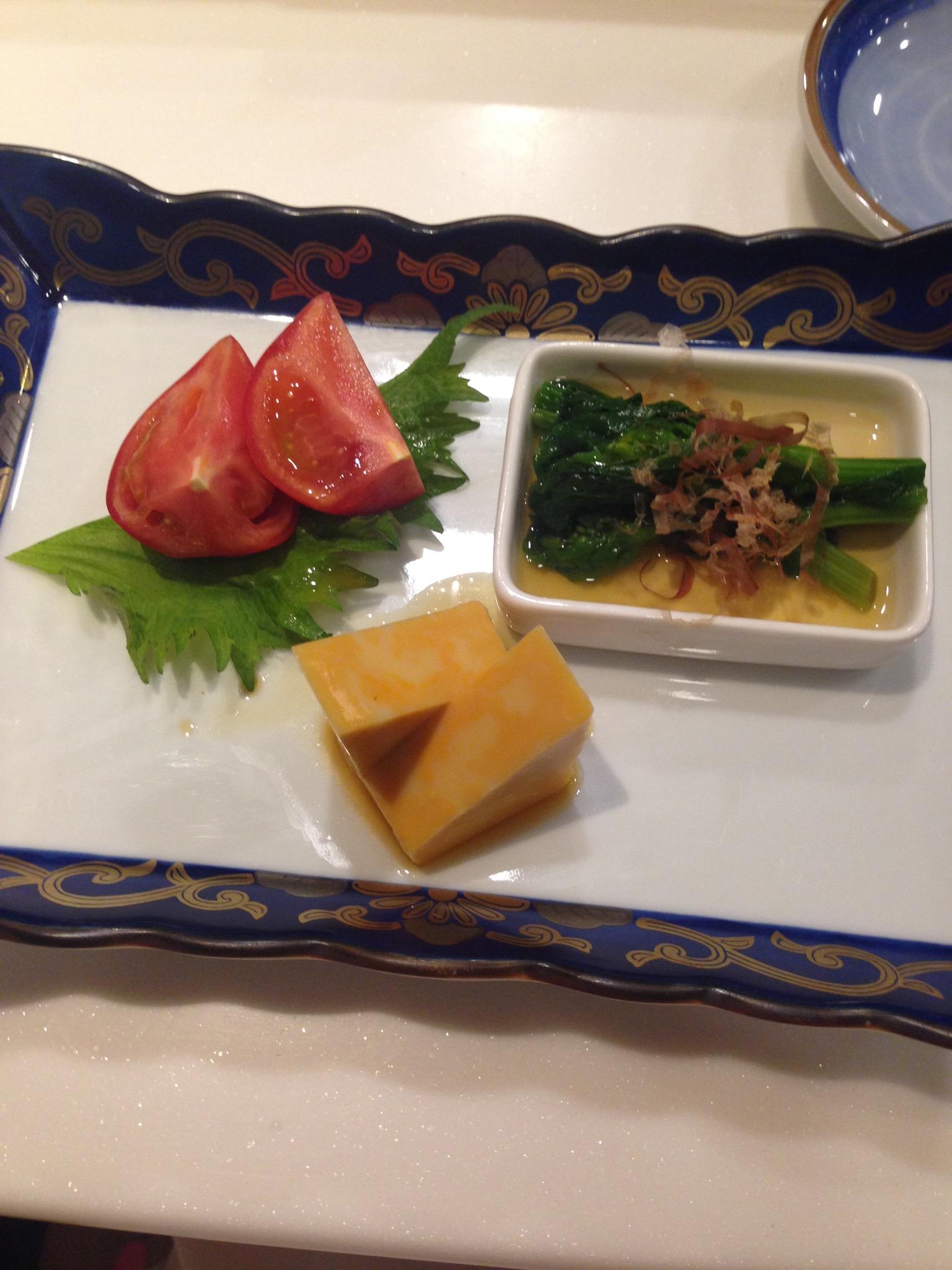 Fish-flavored tofu :)
