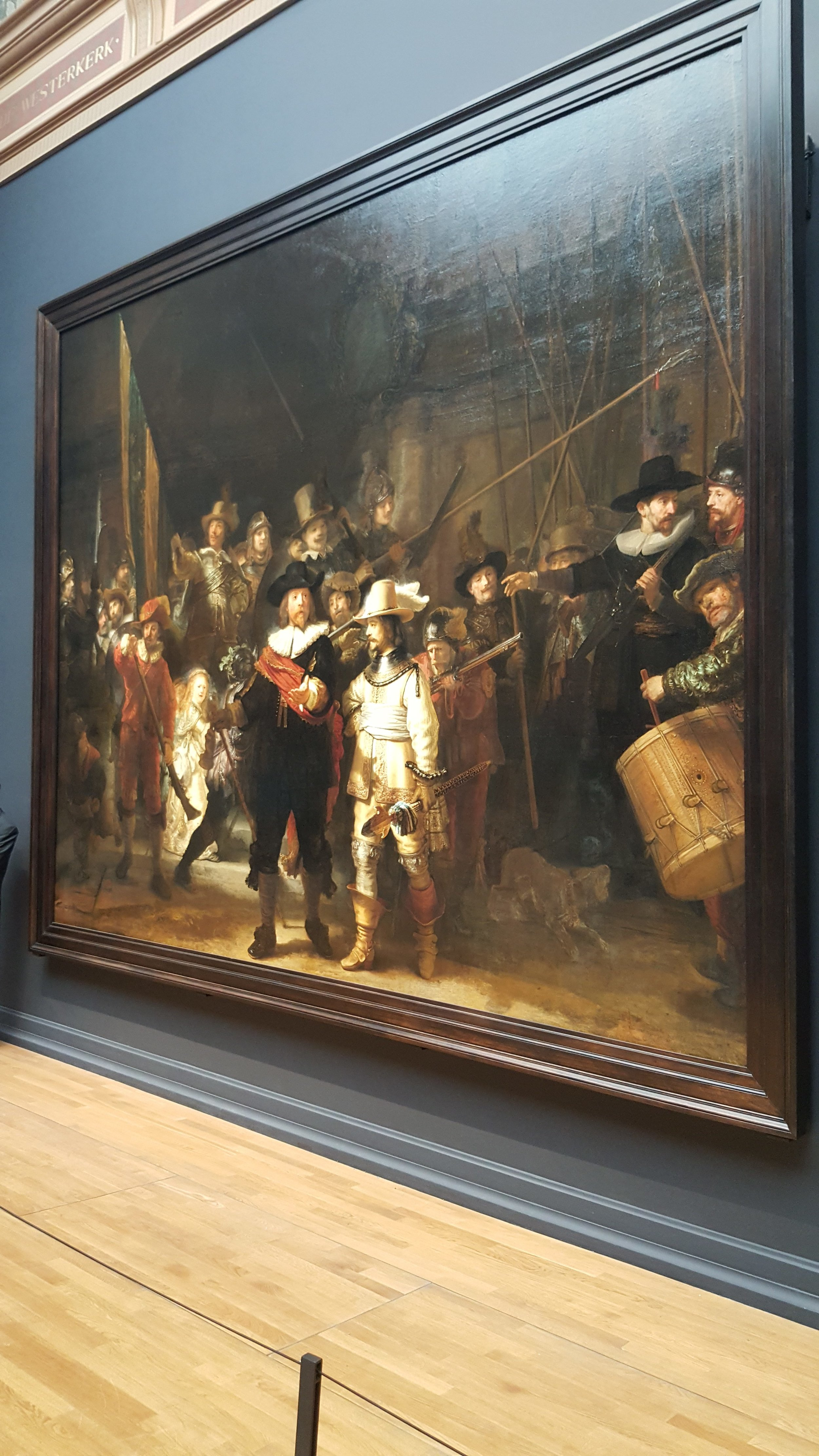 Night Watch by Rembrandt at the Rijksmuseum