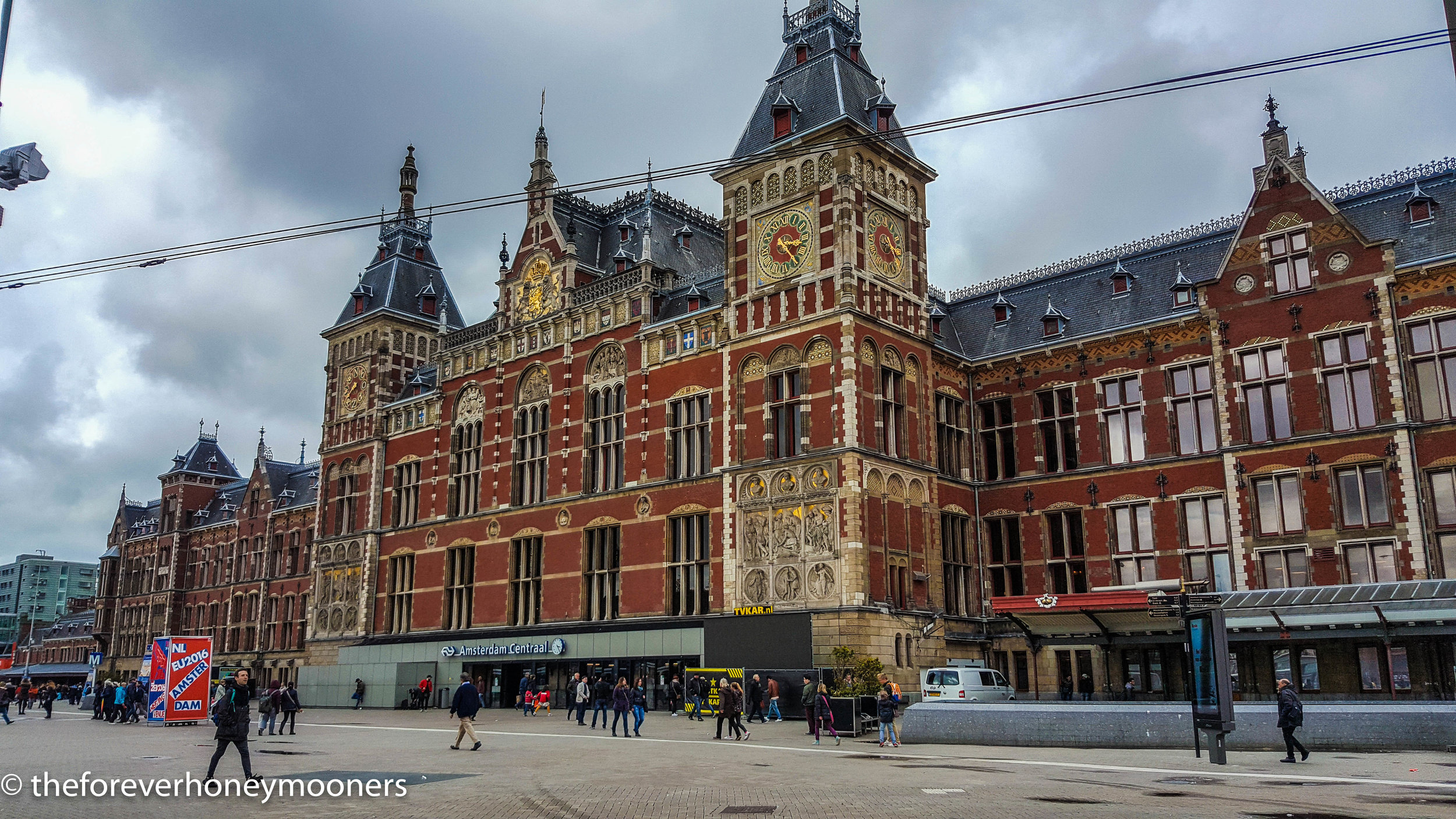 Amsterdam Central Statiom