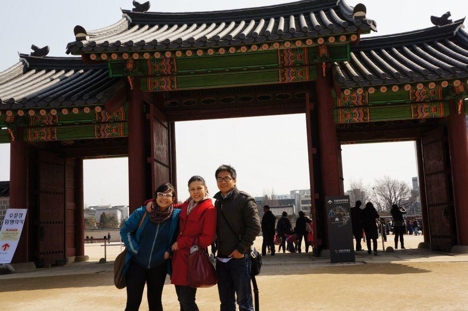 Raiza, Jaysen, and I in Seoul