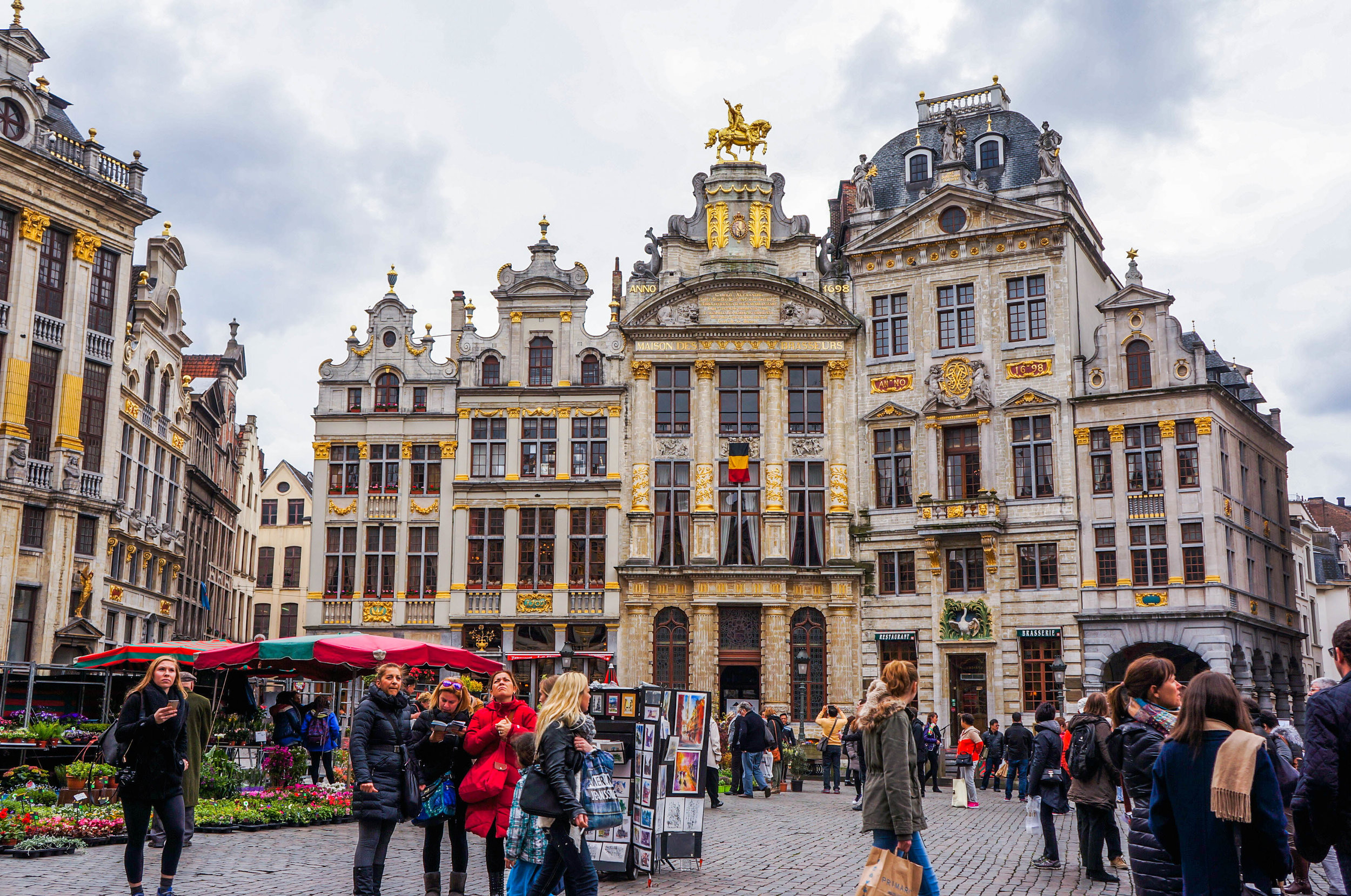 The Grand Place also called Grote Markt