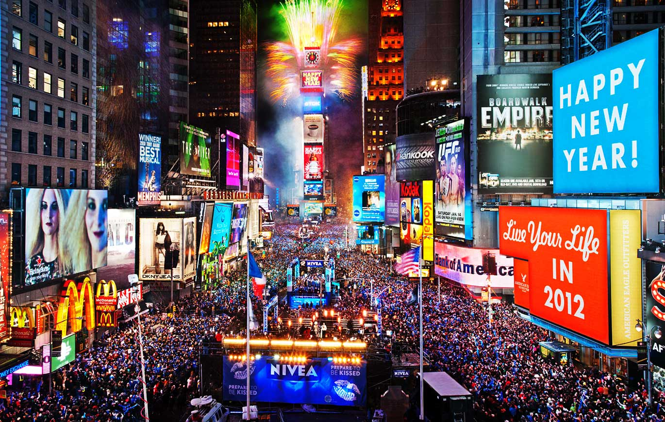 New Year at Times Square New York