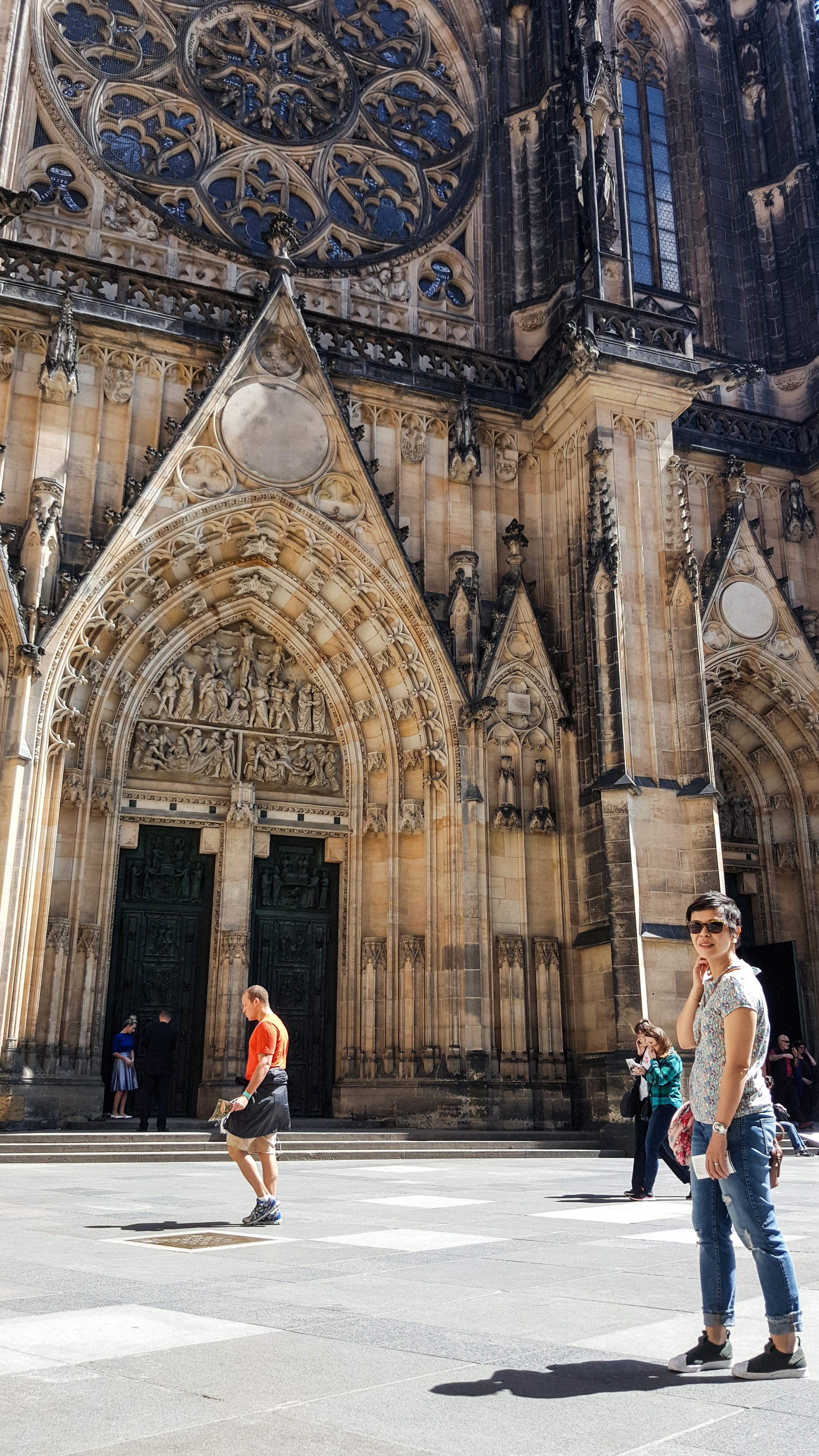 St. Vitus Cathedral in the Prague Castle complex