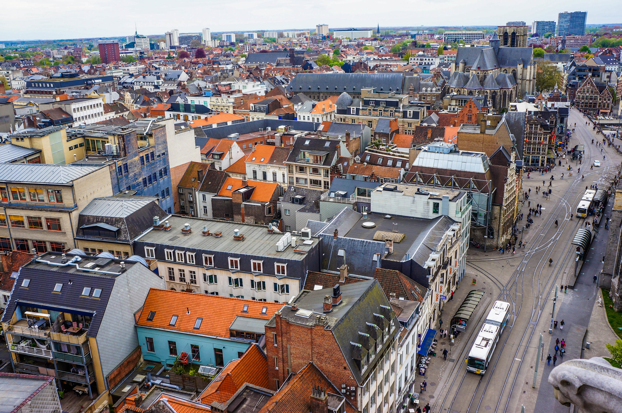 View from the Belfry of Ghent