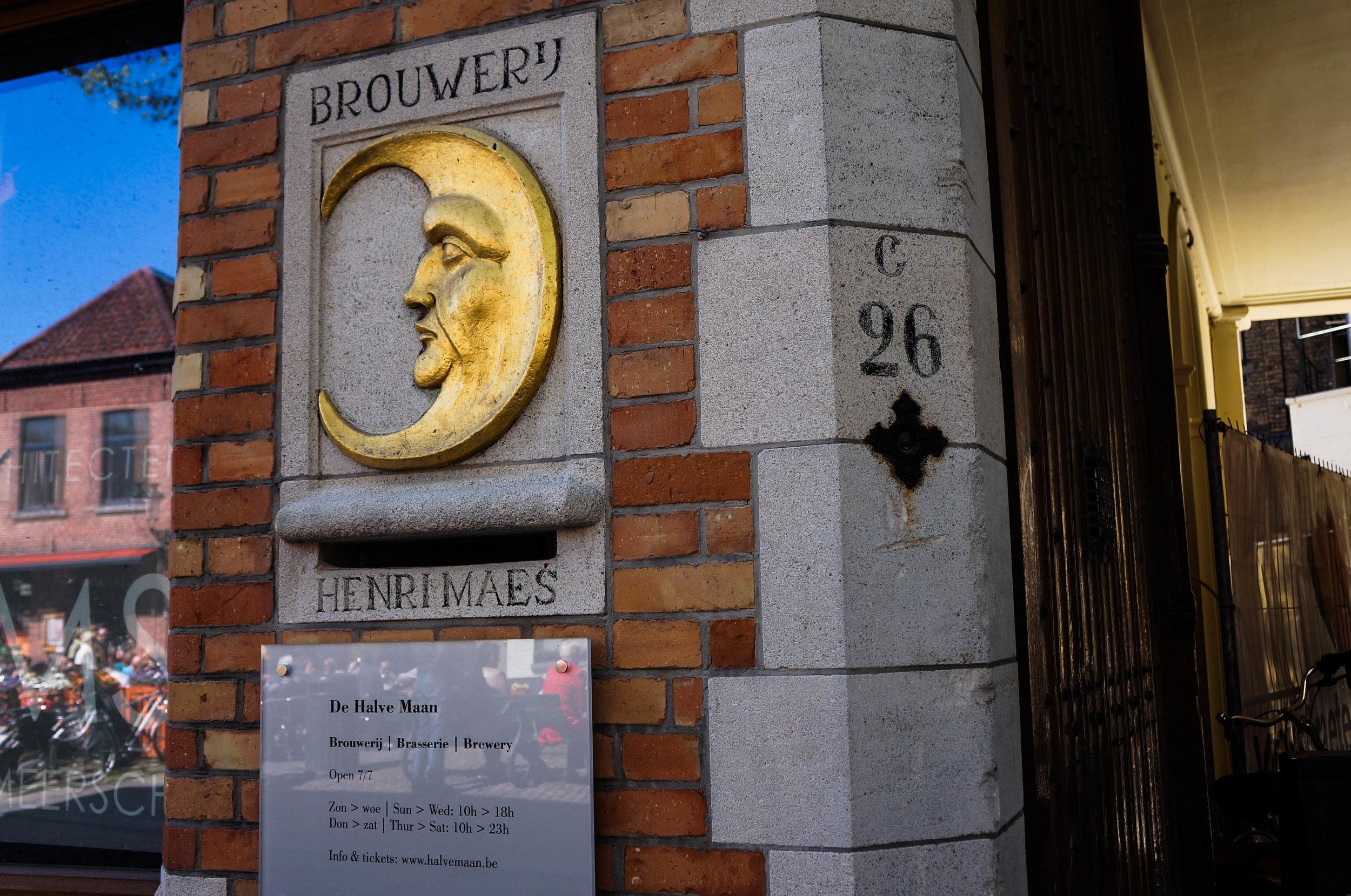 De Halve Maan Brouwery (The Half Moon Brewery): Time to get some authentic Belgian beer. :)