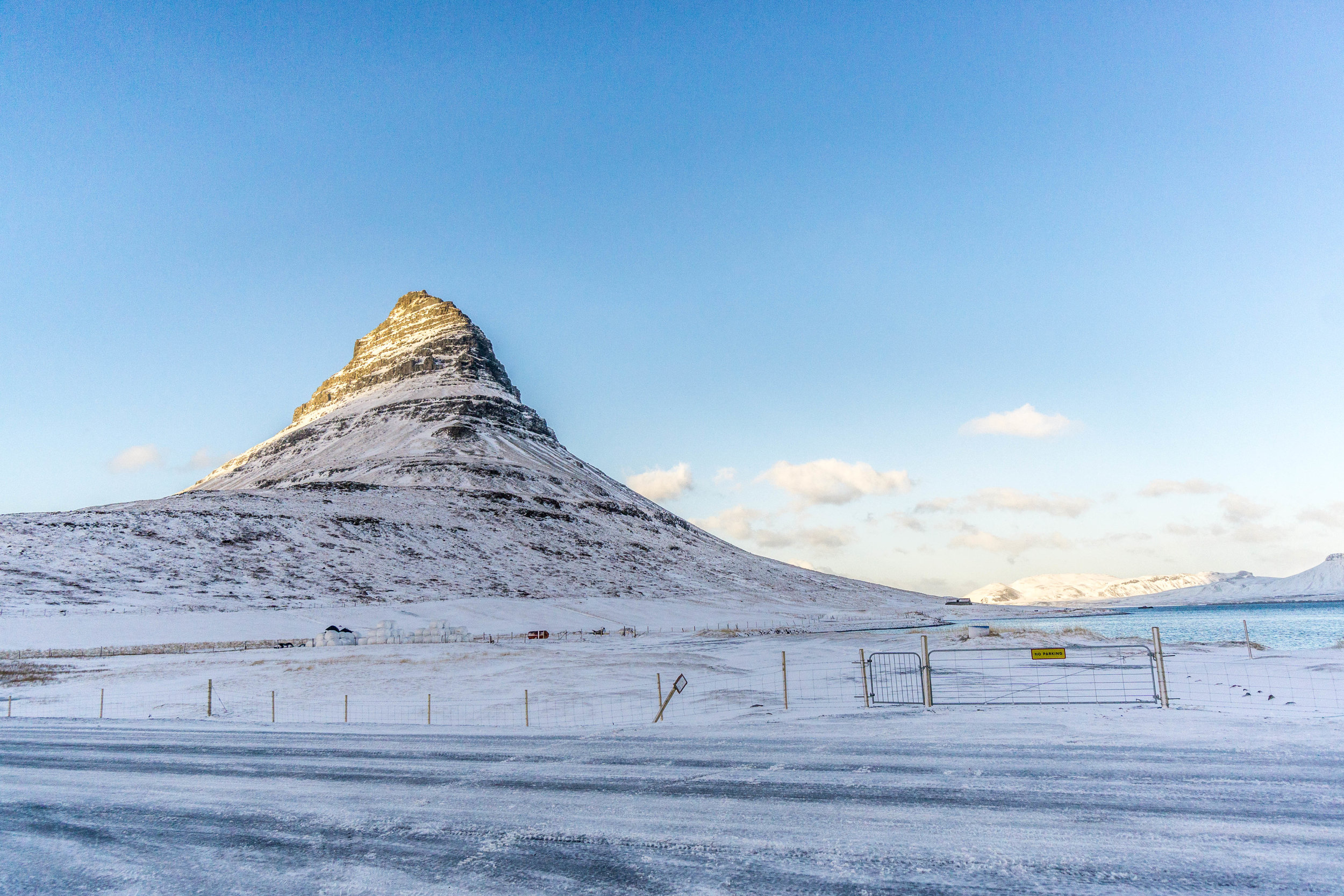 One of the most beautiful and photographed mountains in the world: Kirkjufell