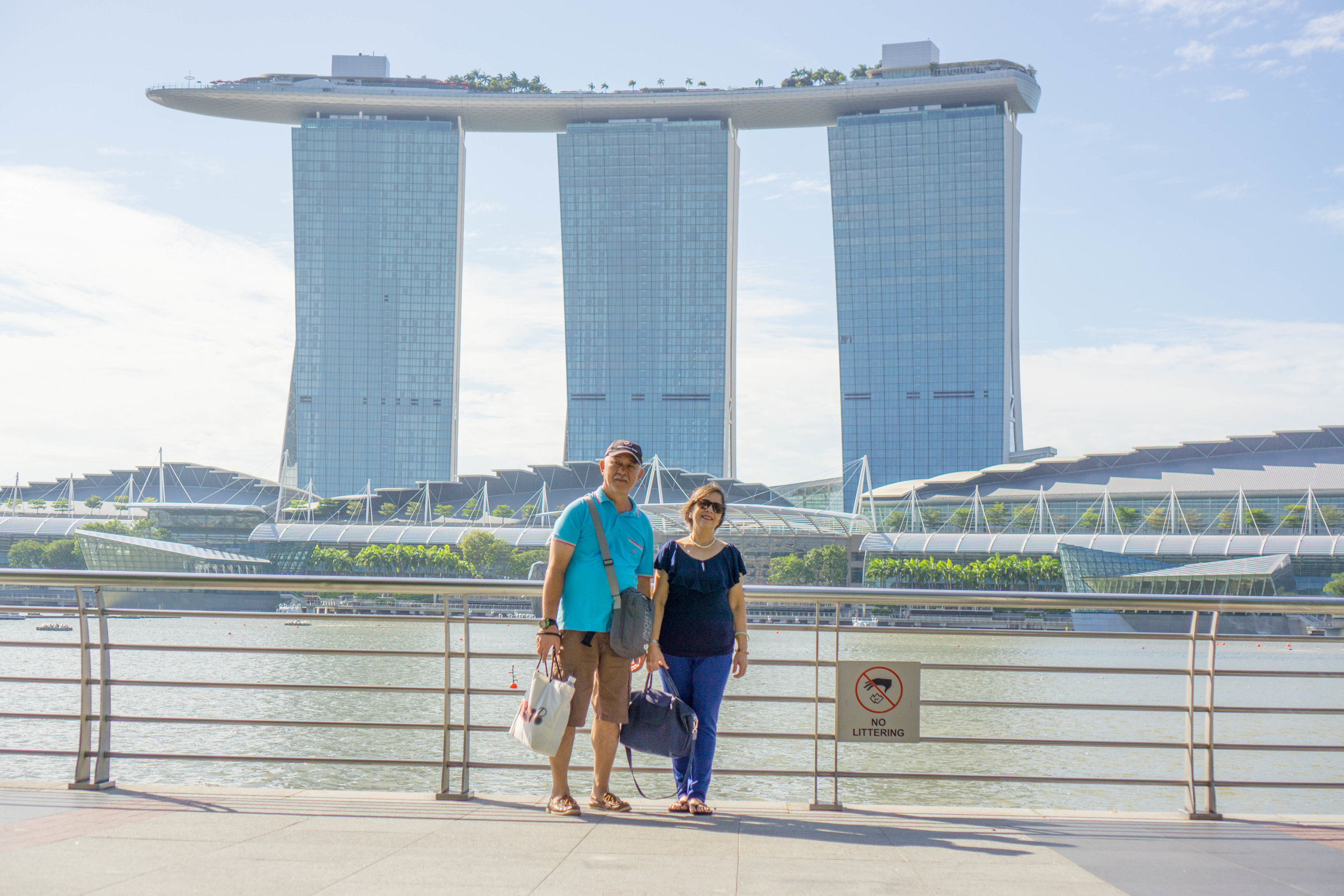 Poster shot by the Marina Bay Sands