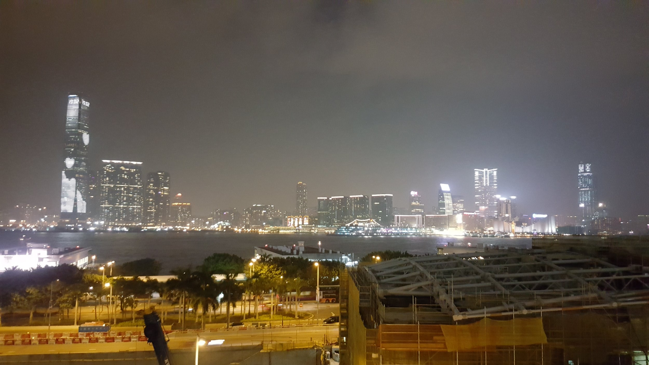 The other side of Hong Kong. View from Isola.