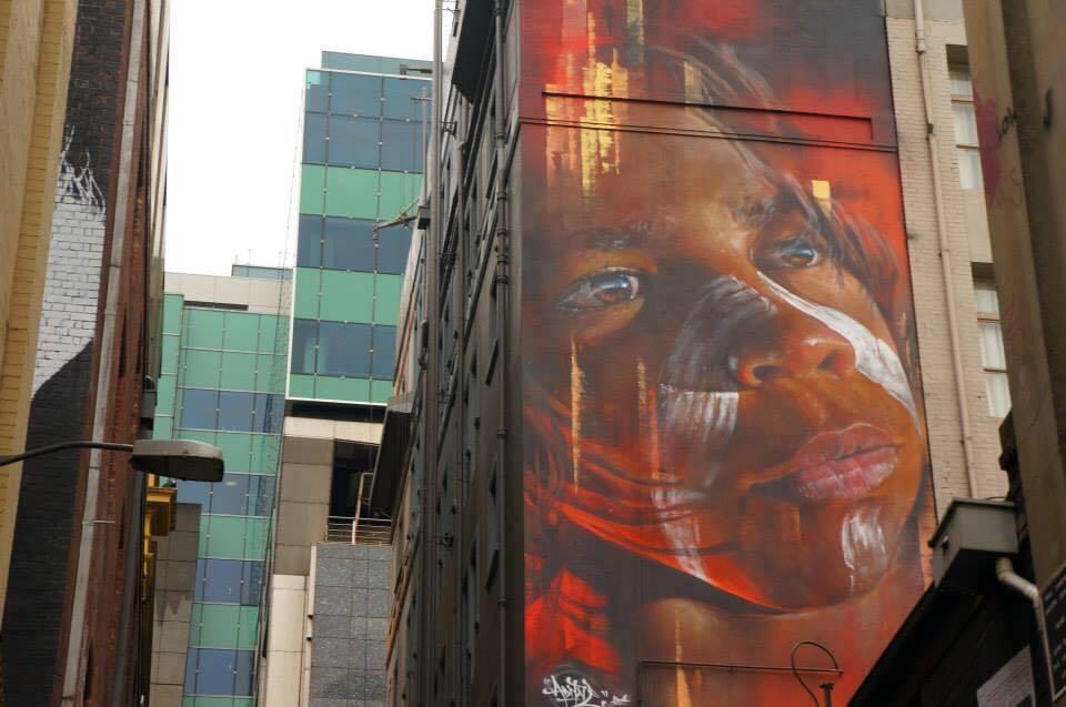 Melbourne's vibrant street art scene