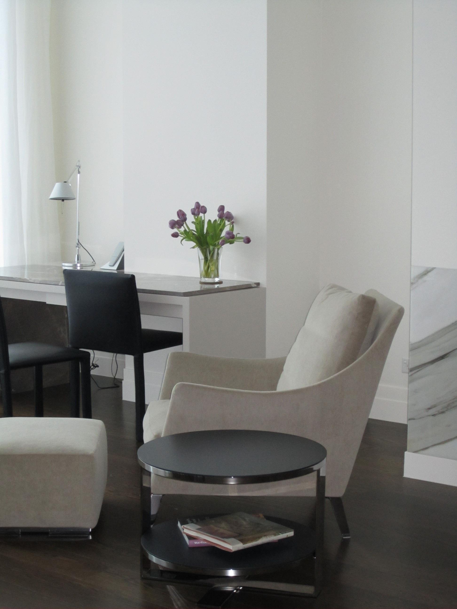 Rina Cohen Interiors, RCI Designs, Interior Design,lounge desk