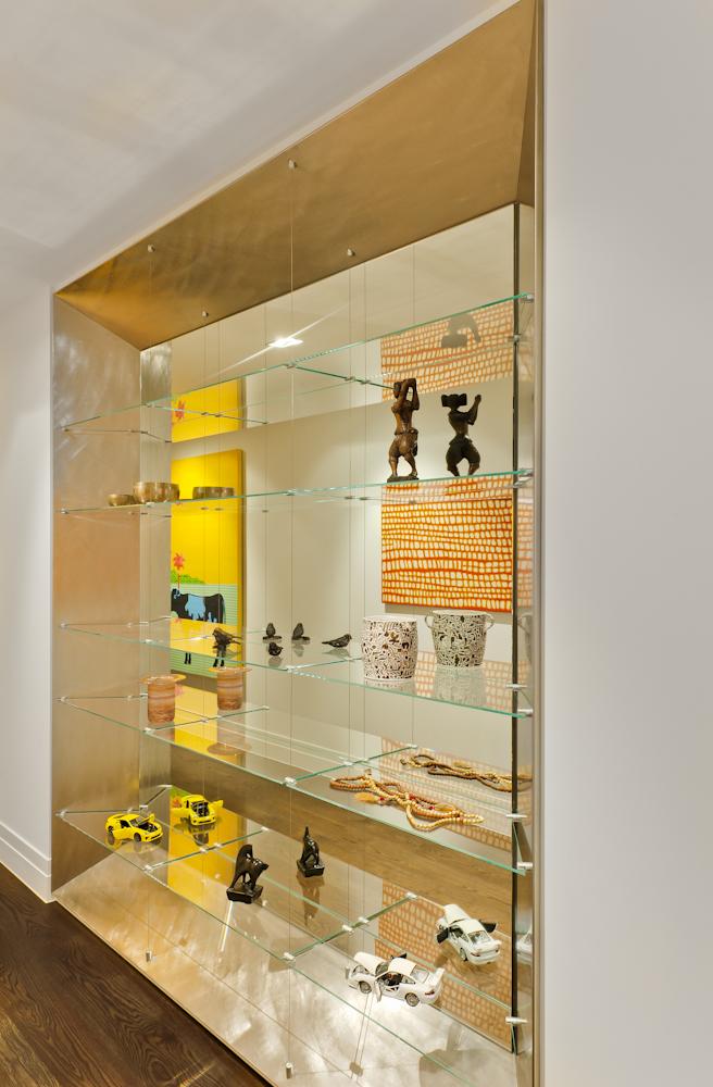 Rina Cohen Interiors, RCI Designs, Interior Design, Mirror Wall Unit